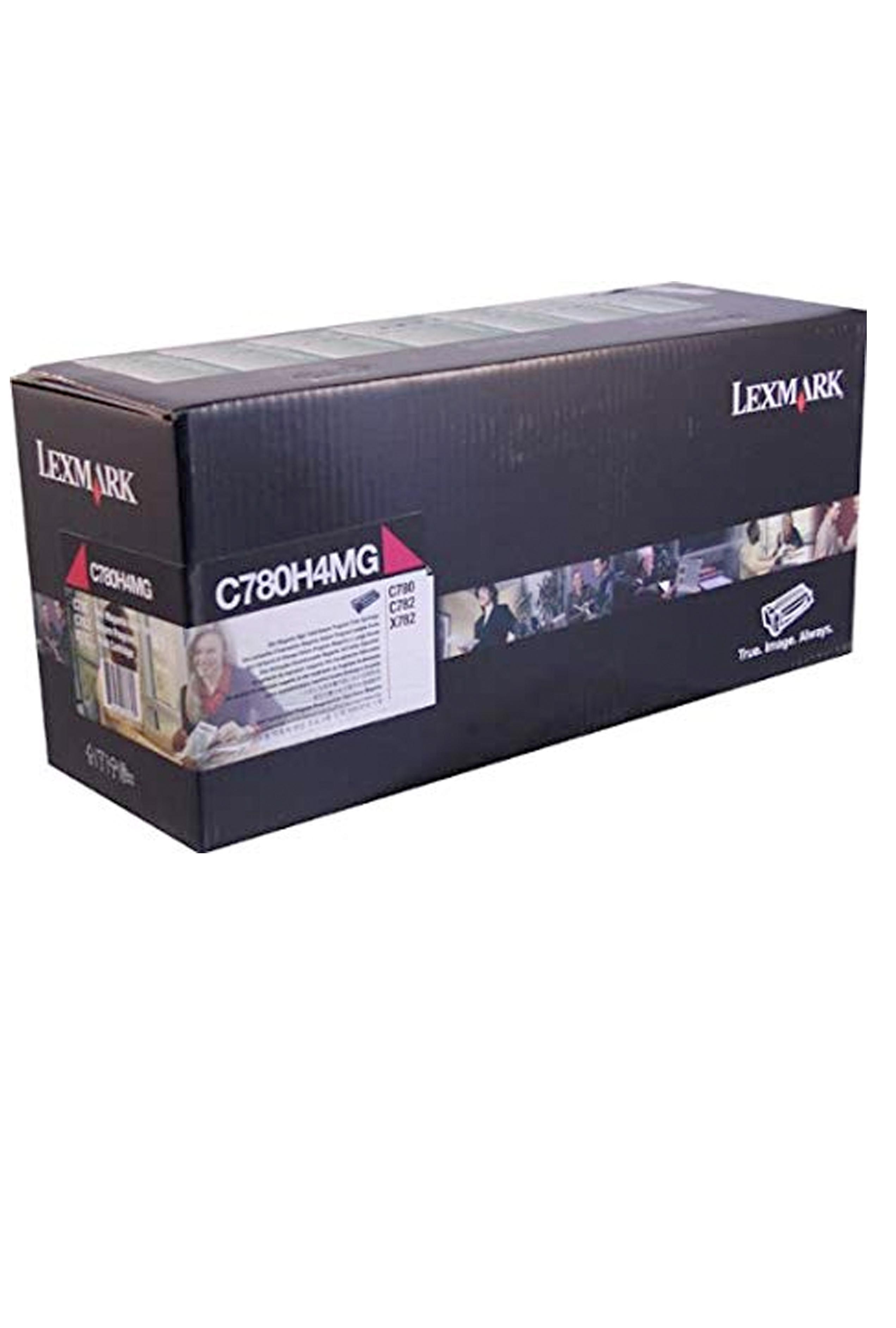 Lexmark LEXMARK MAGENTA HIGH YIELD RETURN PROGRAM PRINT CARTRIDGE (GOVT CONTRACT) (C780H4MG)