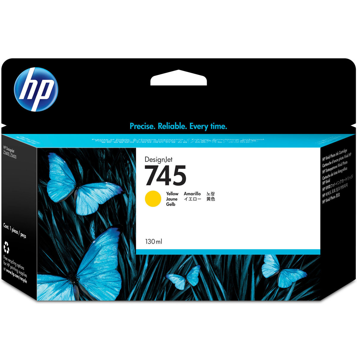 HP 745 (F9J96A) Yellow Original...