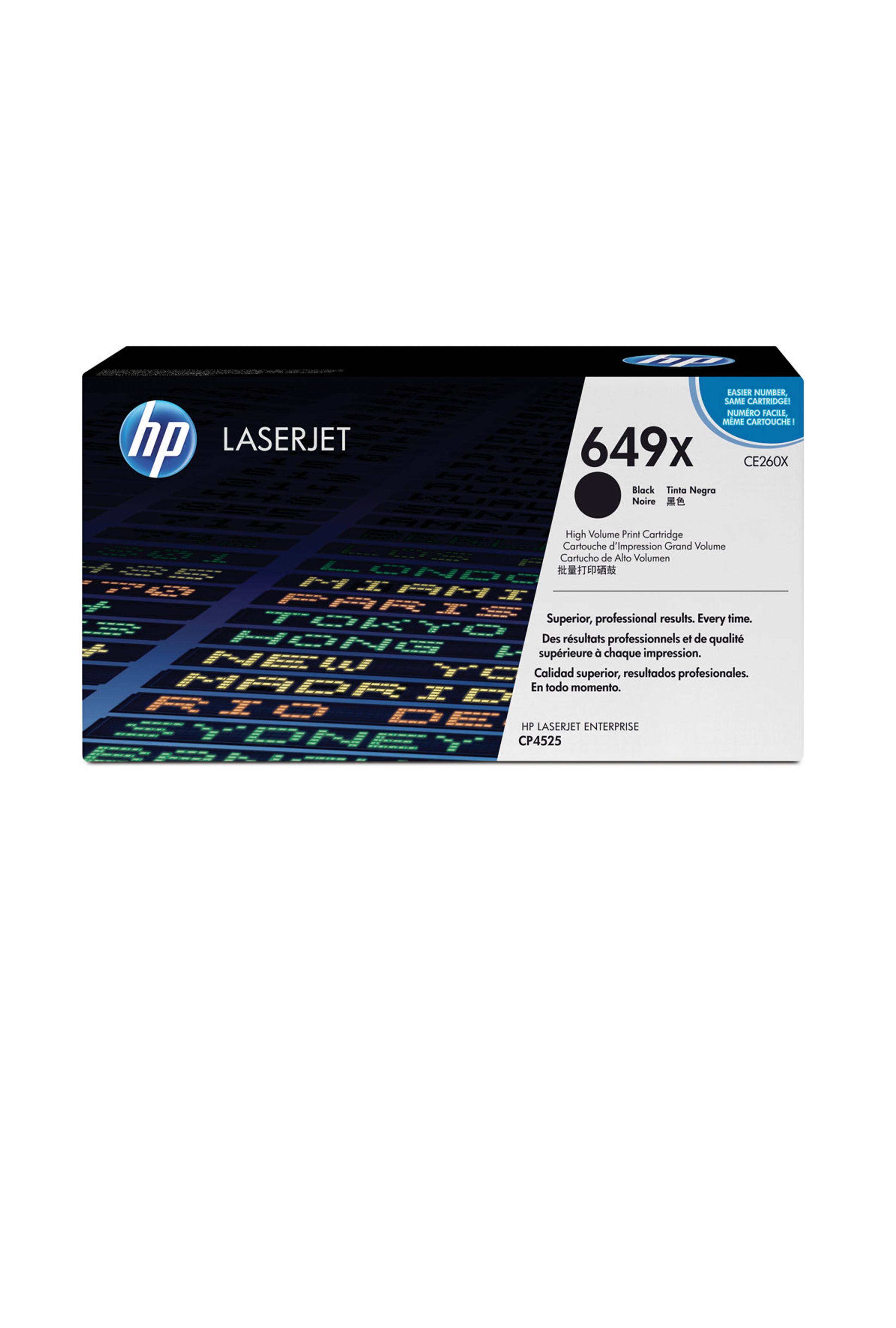 HP High Volume Print Cartridge (CE260XC)