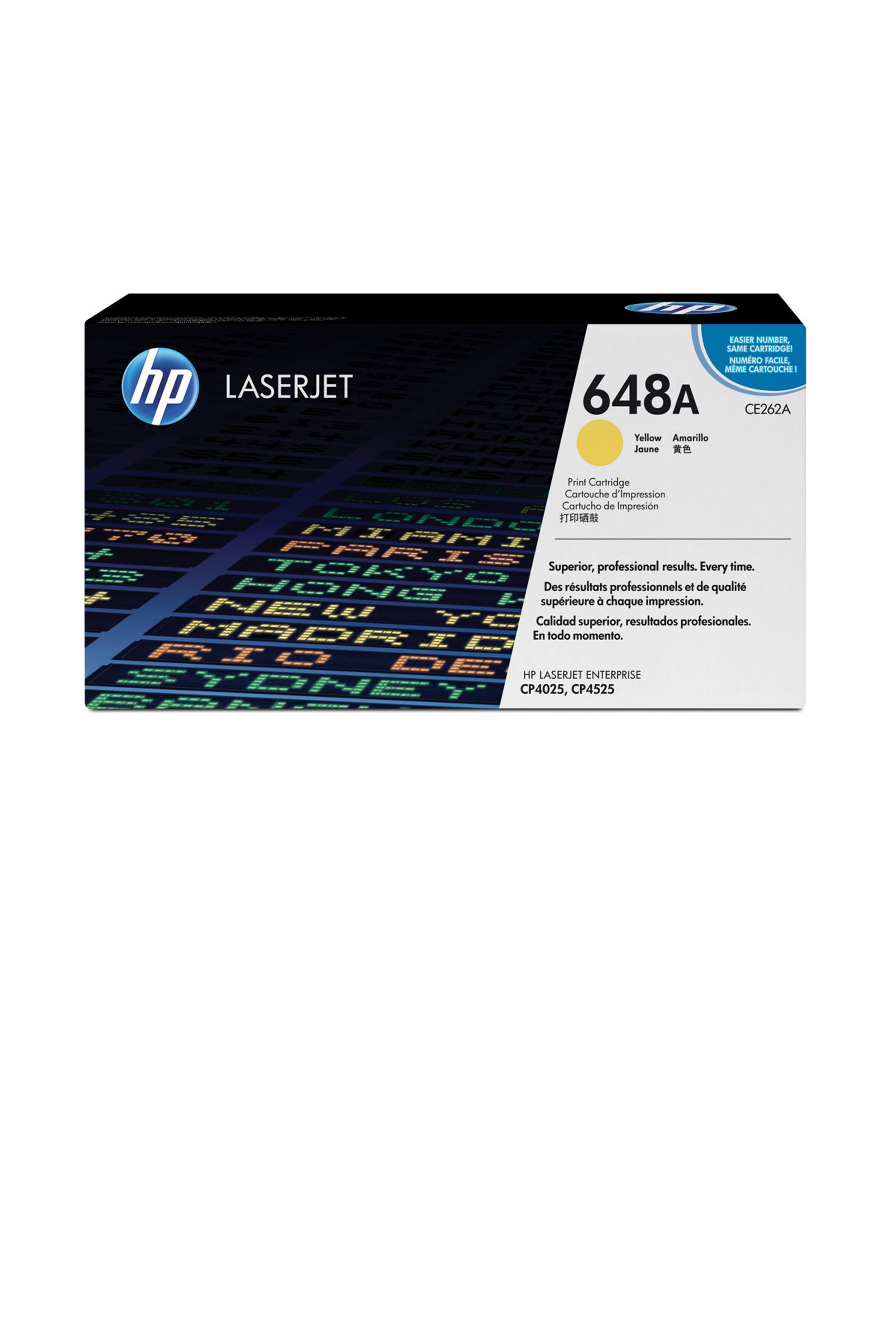 HP Yellow Print cartridge (CE262AC)