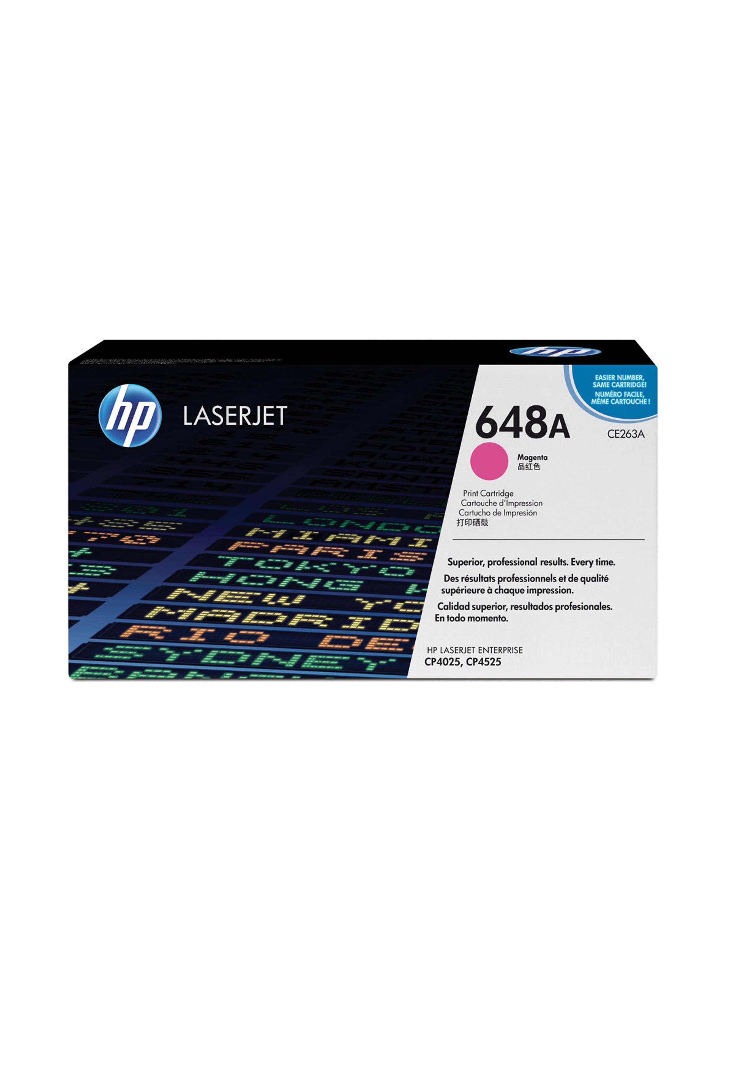 HP Print Magenta Cartridge (CE263AC)