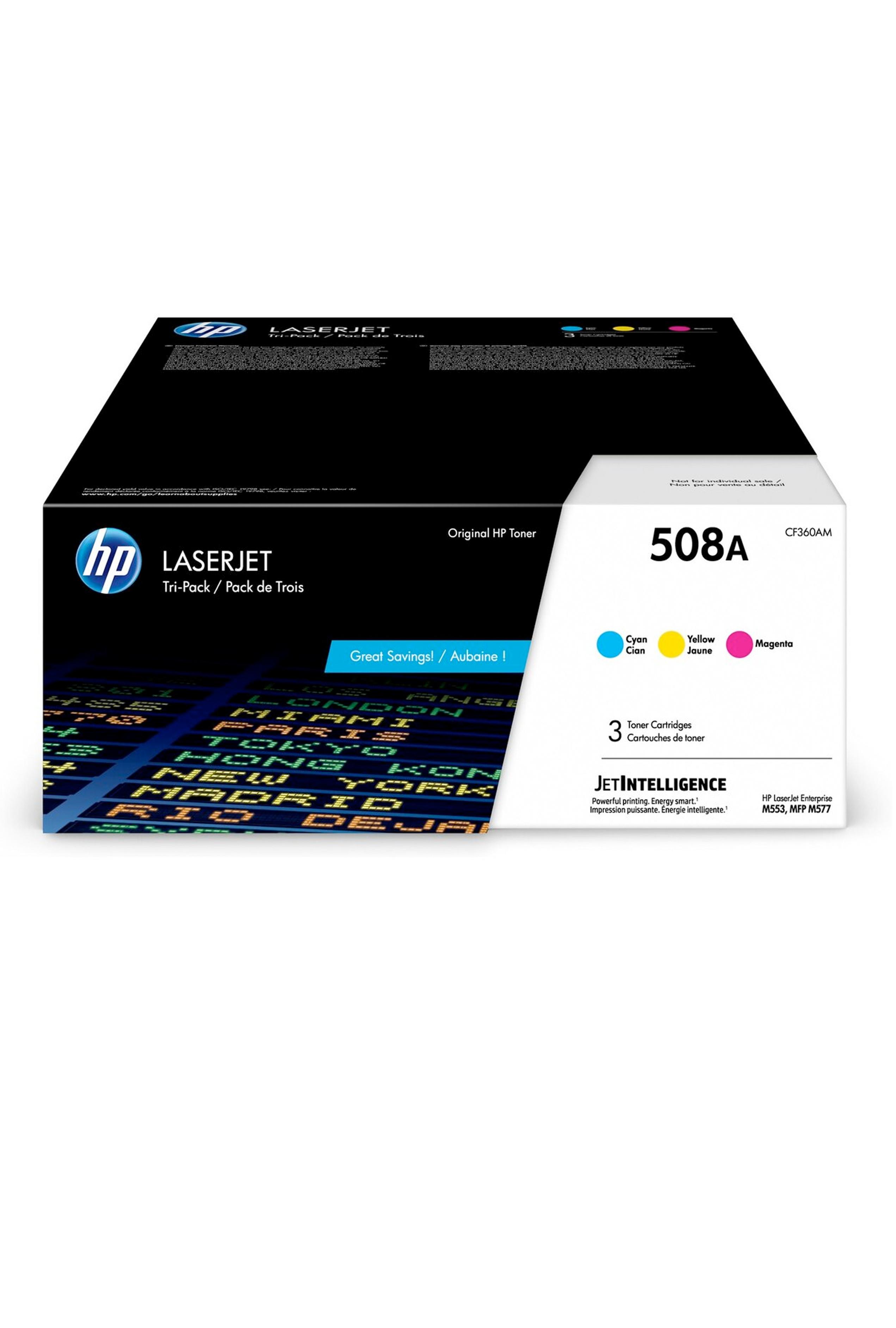 HP Laserjet 3 Pack Color cartrdige (CF360AM)