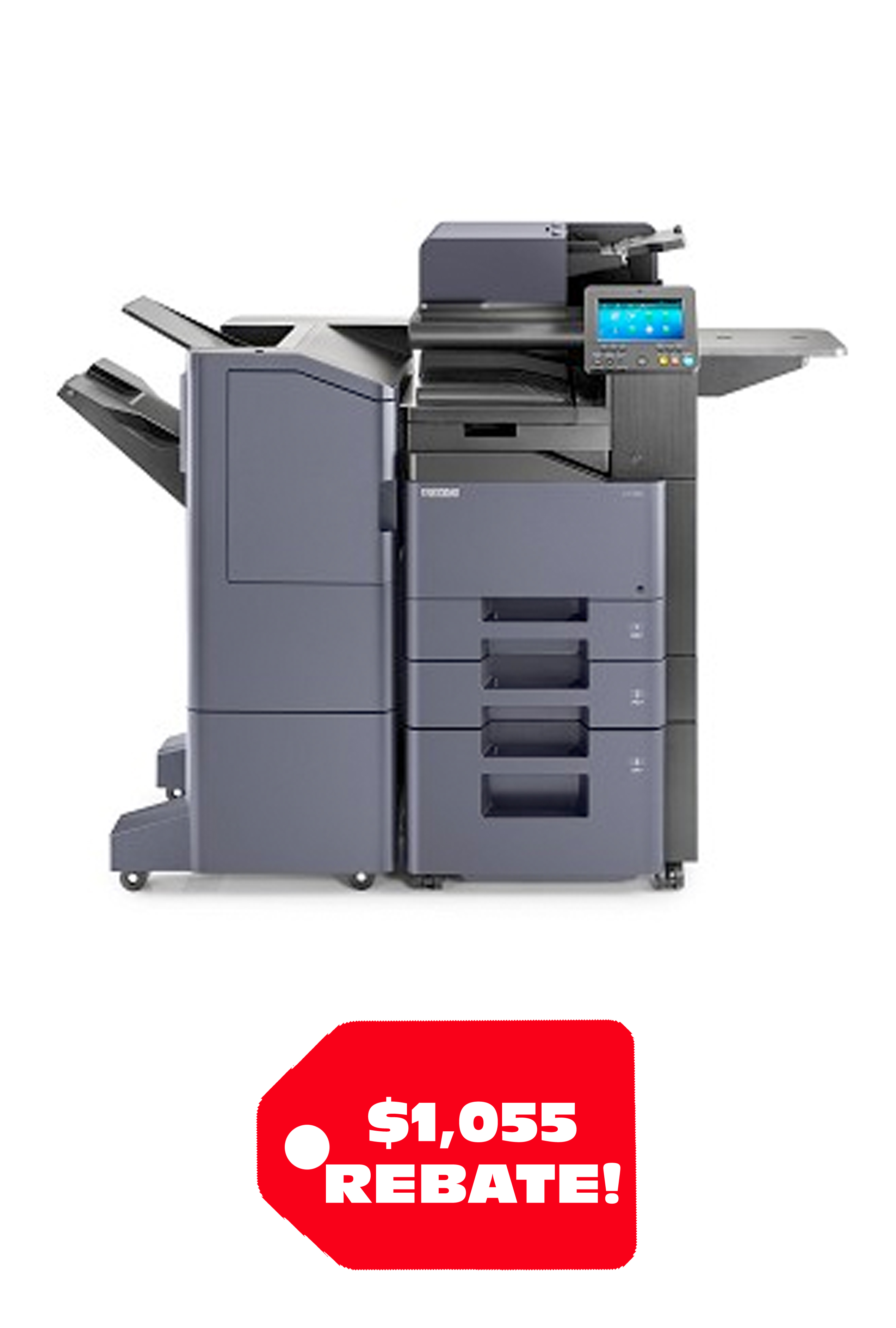 Copystar CS 358ci 37 PPM A4 Color MFP (note found doubles of...