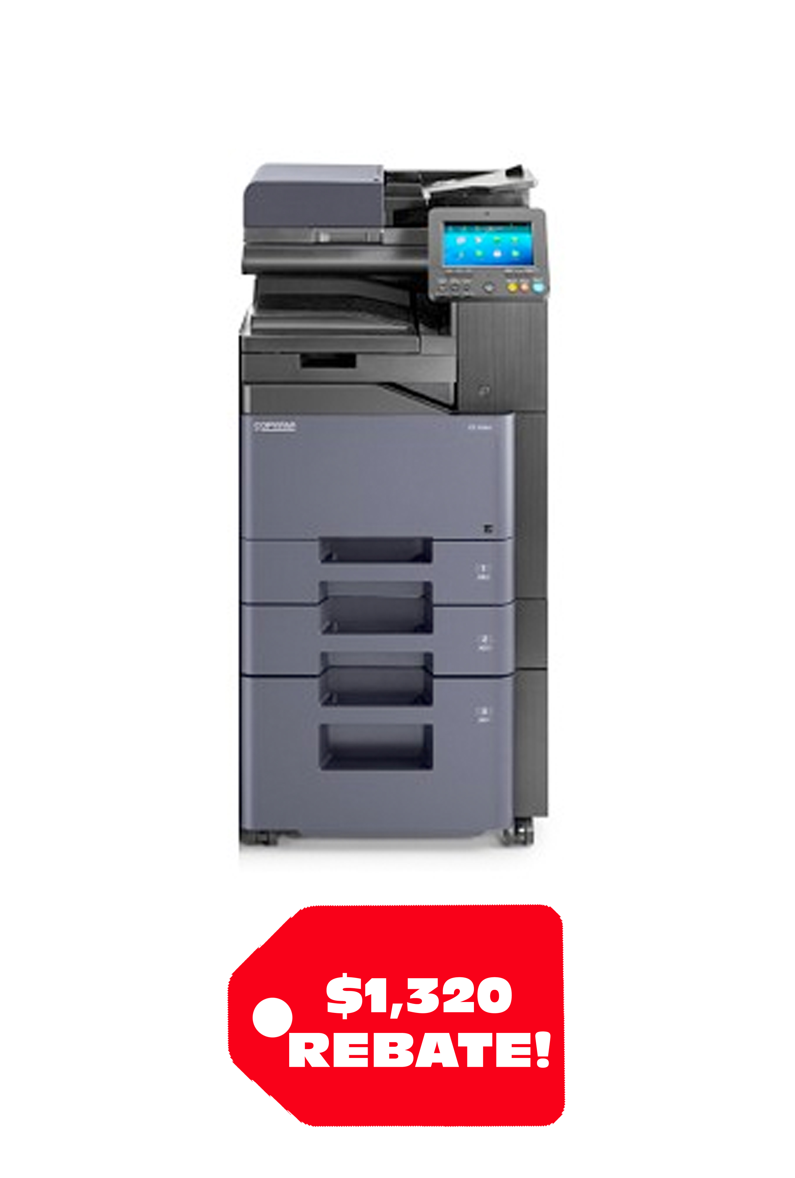 Copystar CS 508ci 52 PPM A4 Color MFP