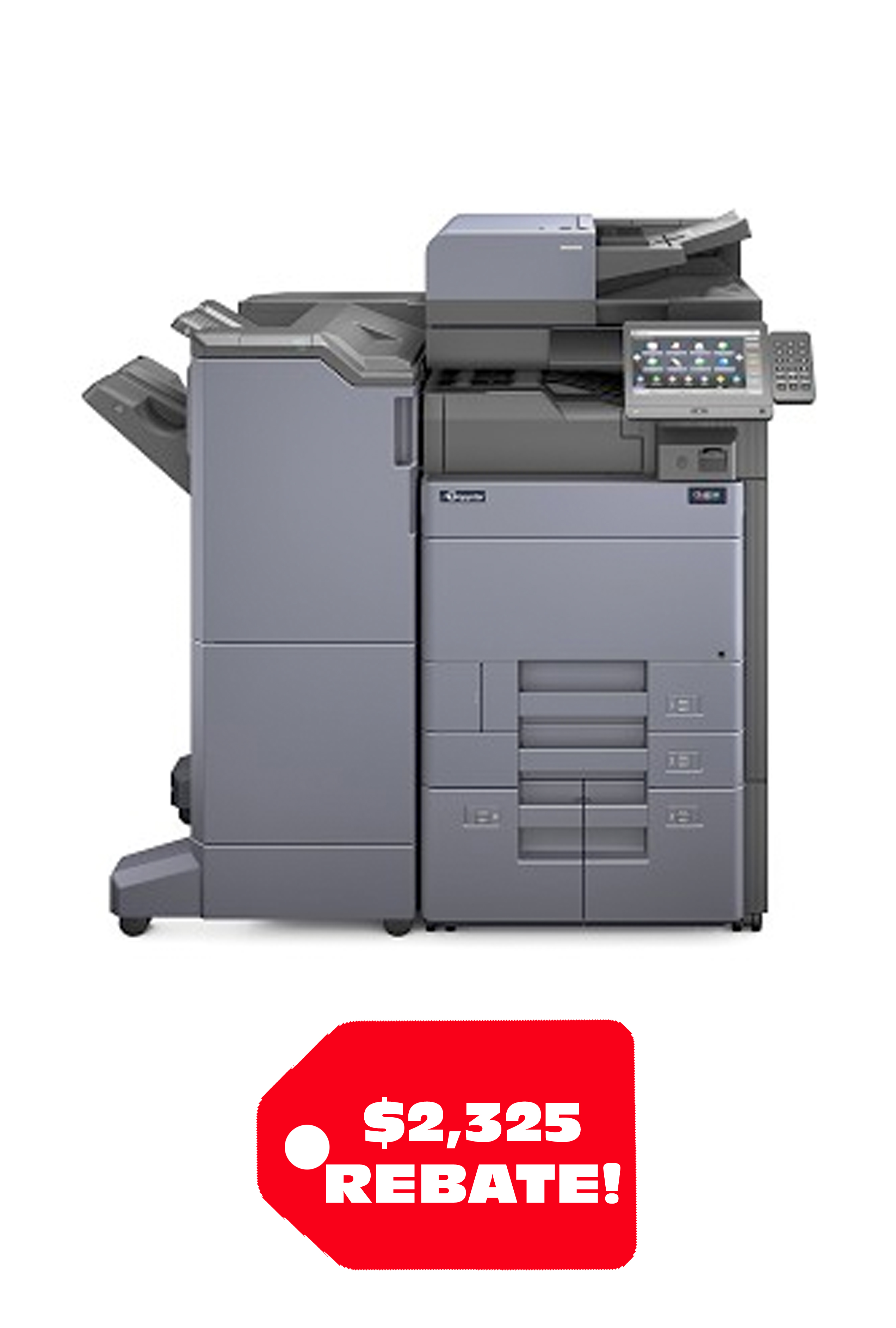 Copystar COPYSTAR CS-6053ci (60/55 PPM) A3 Color MFP