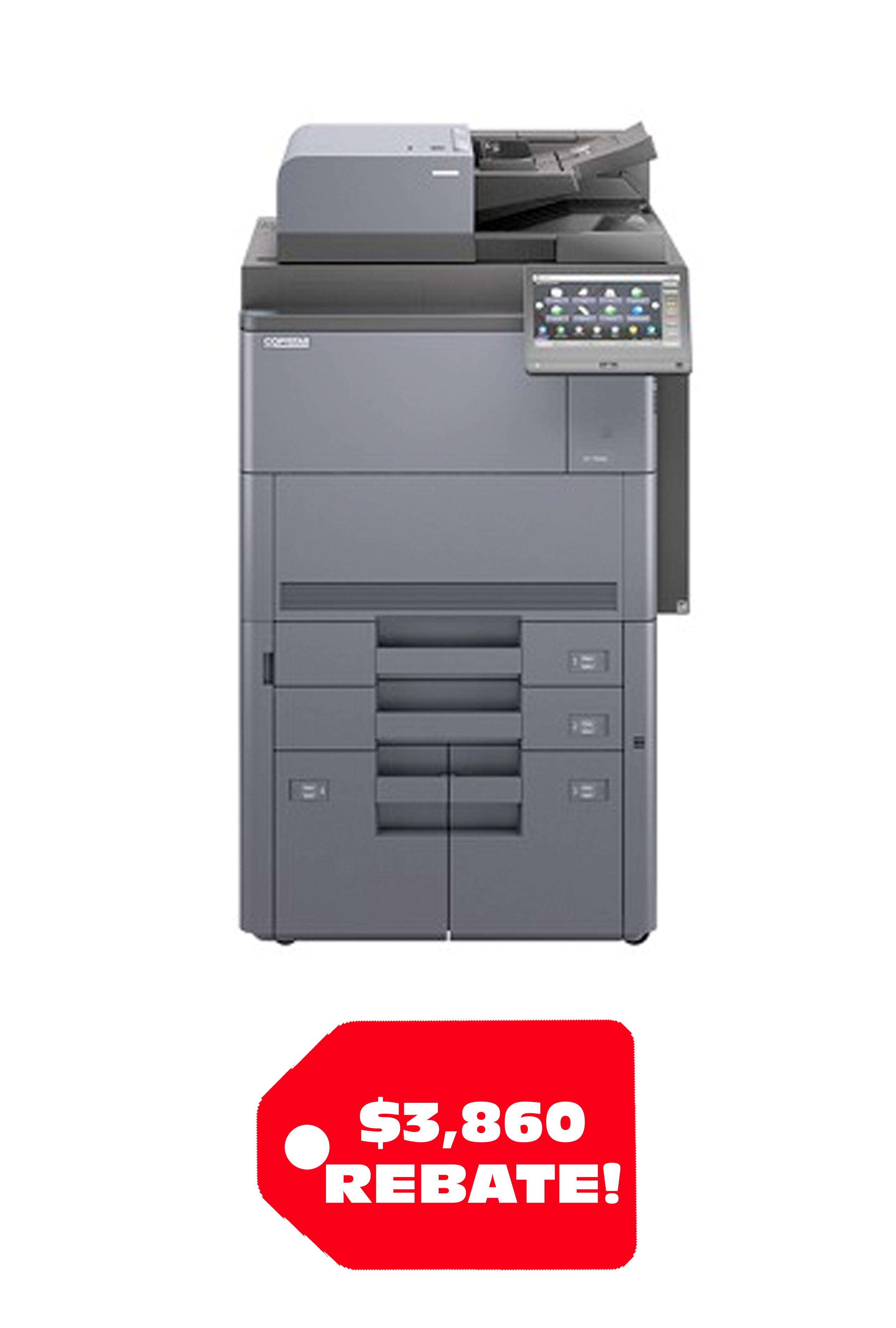 Copystar COPYSTAR CS 7353ci (70/65PPM) A3 COLOR MFP