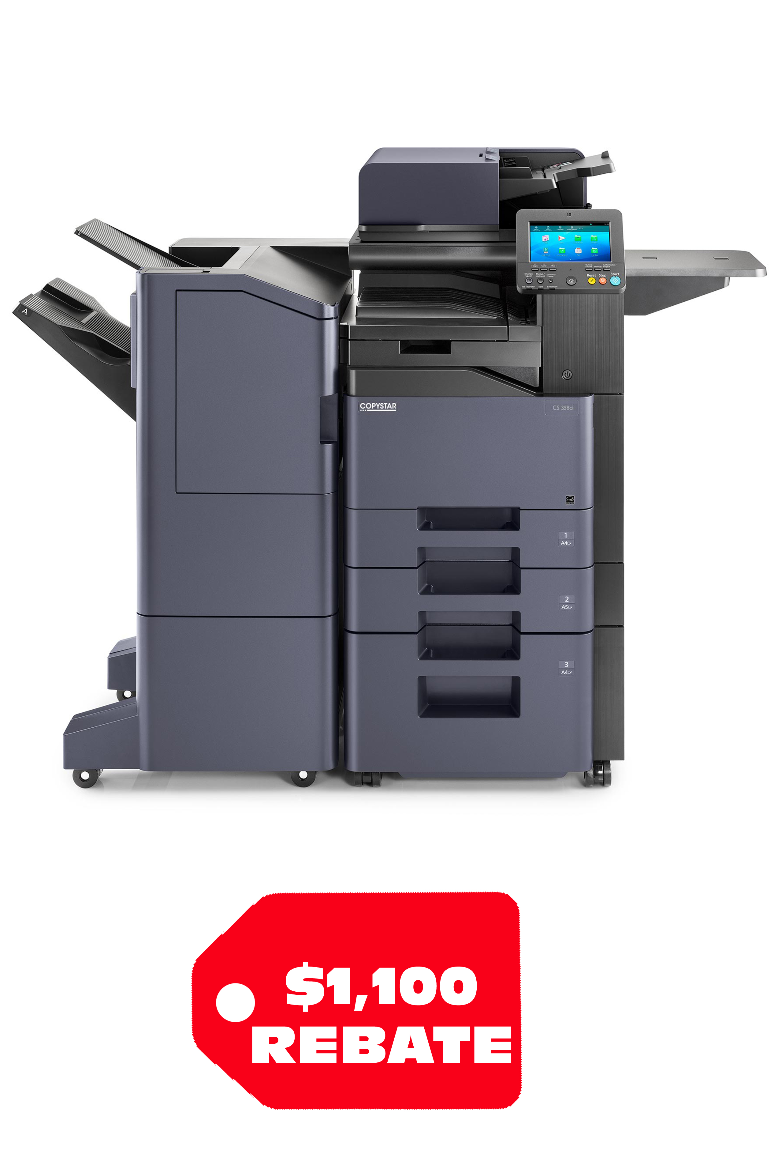 Copystar CS 358ci 37 PPM A4 Color MFP