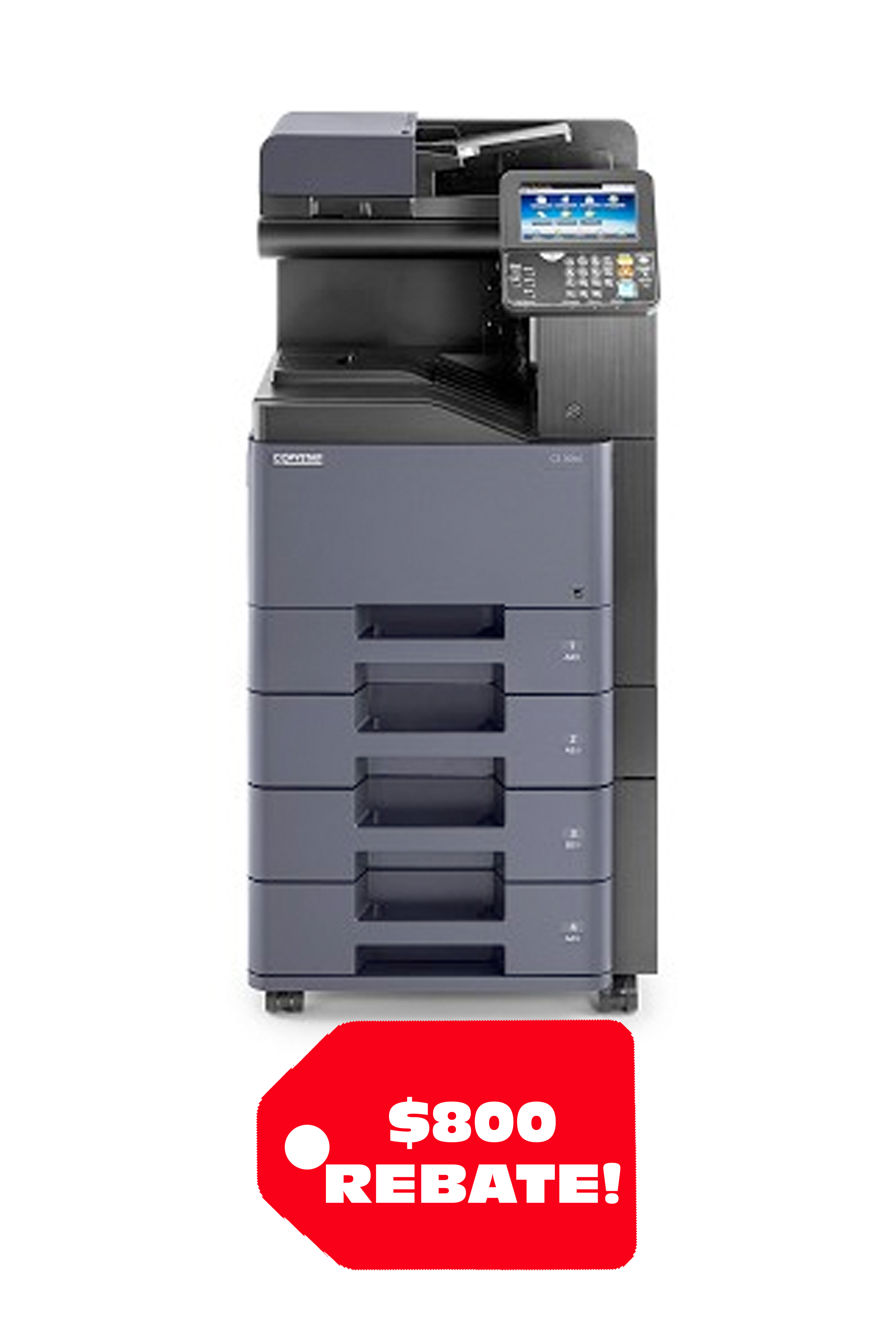 Copystar CS 308ci 32 PPM A4 Color MFP (Package 1)
