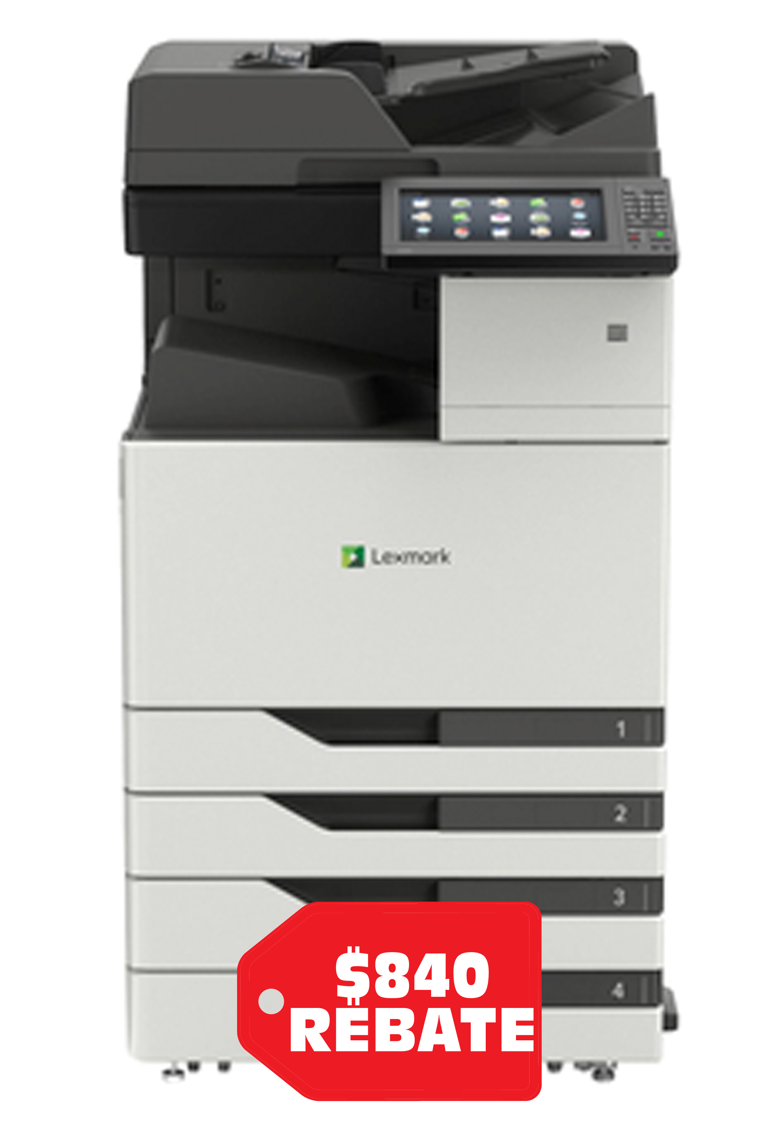 Lexmark LEXMARK CX923DTE MULTIFUNCTION PRINTER (55 ppm)