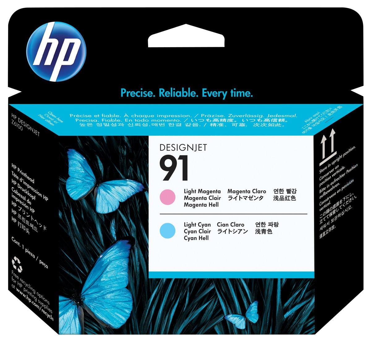 HP 91 (C9462A) Light Magenta/Light Cyan Printhead