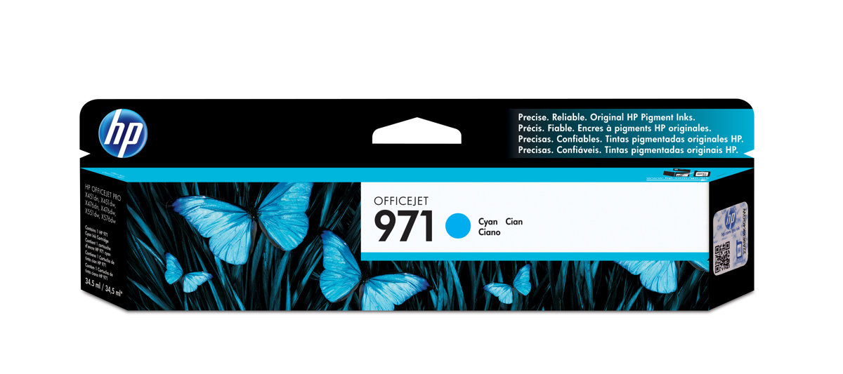 HP 971 (CN622AM) Cyan Original...