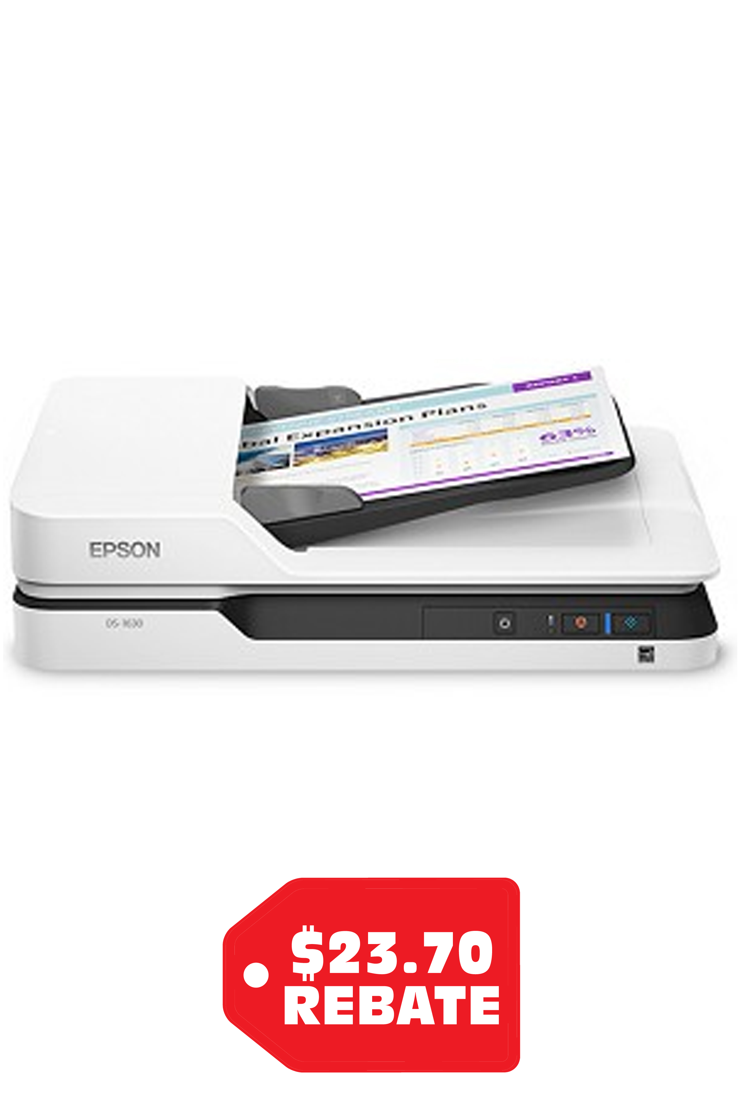 Epson DS-1630 Flatbed Color...