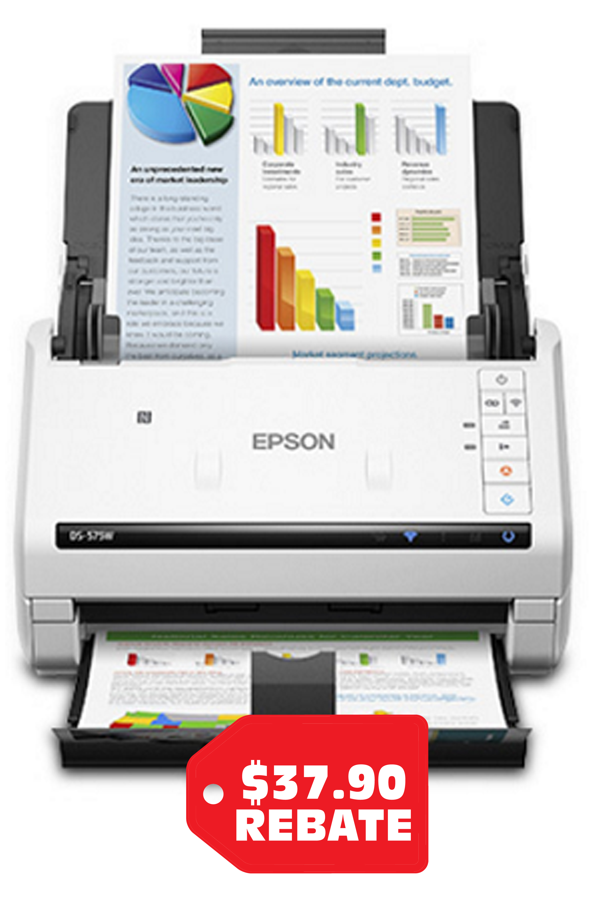 Epson DS-575W Wireless Color...