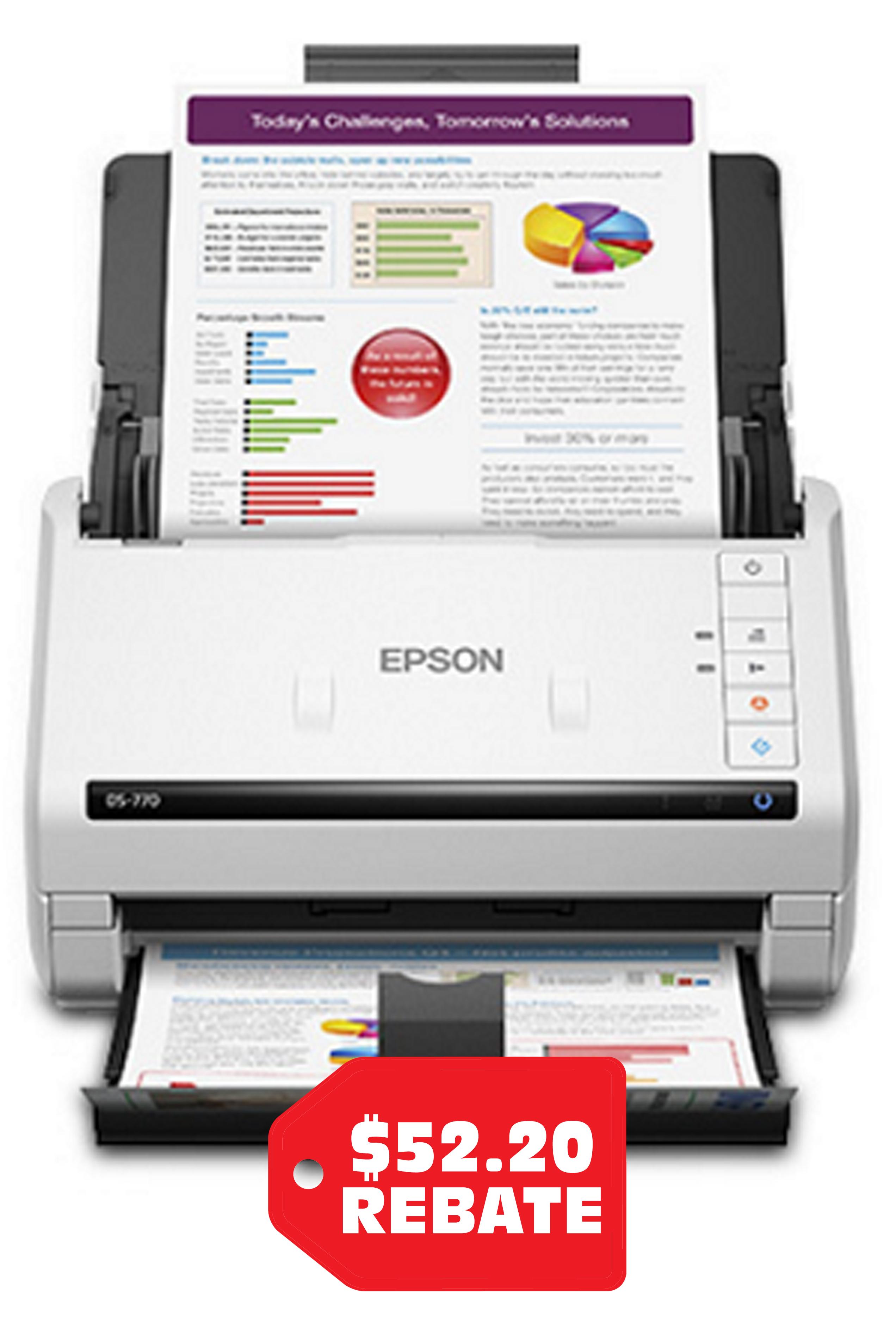 Epson WorkForce DS-770 Color...