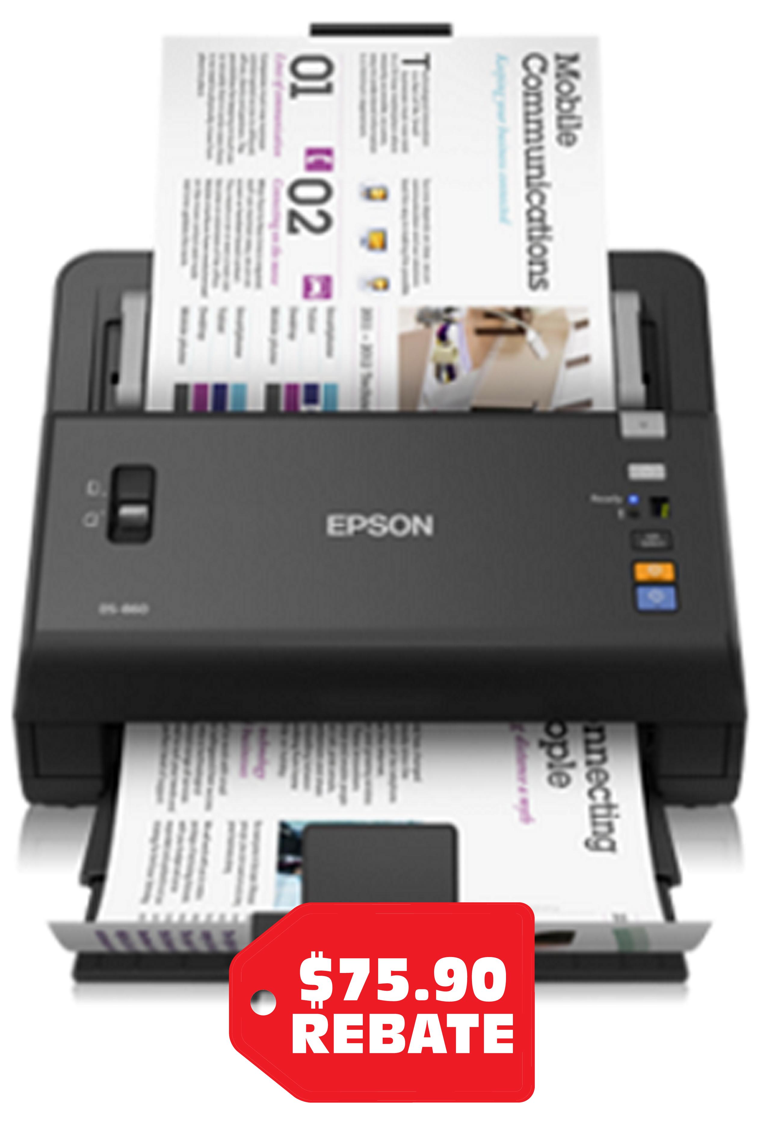 Epson WorkForce DS-860 Color...