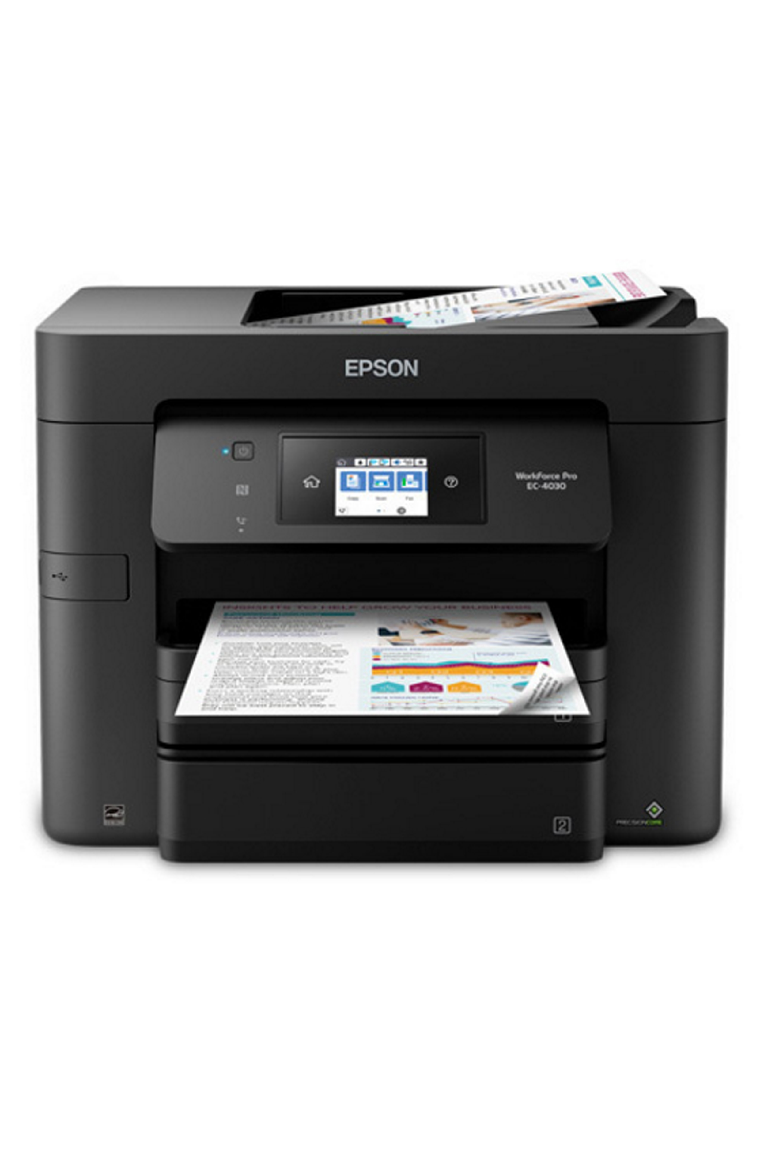 Epson EPSON WORKFORCE PRO EC-4030 COLOR INKJET MFP (20PPM)