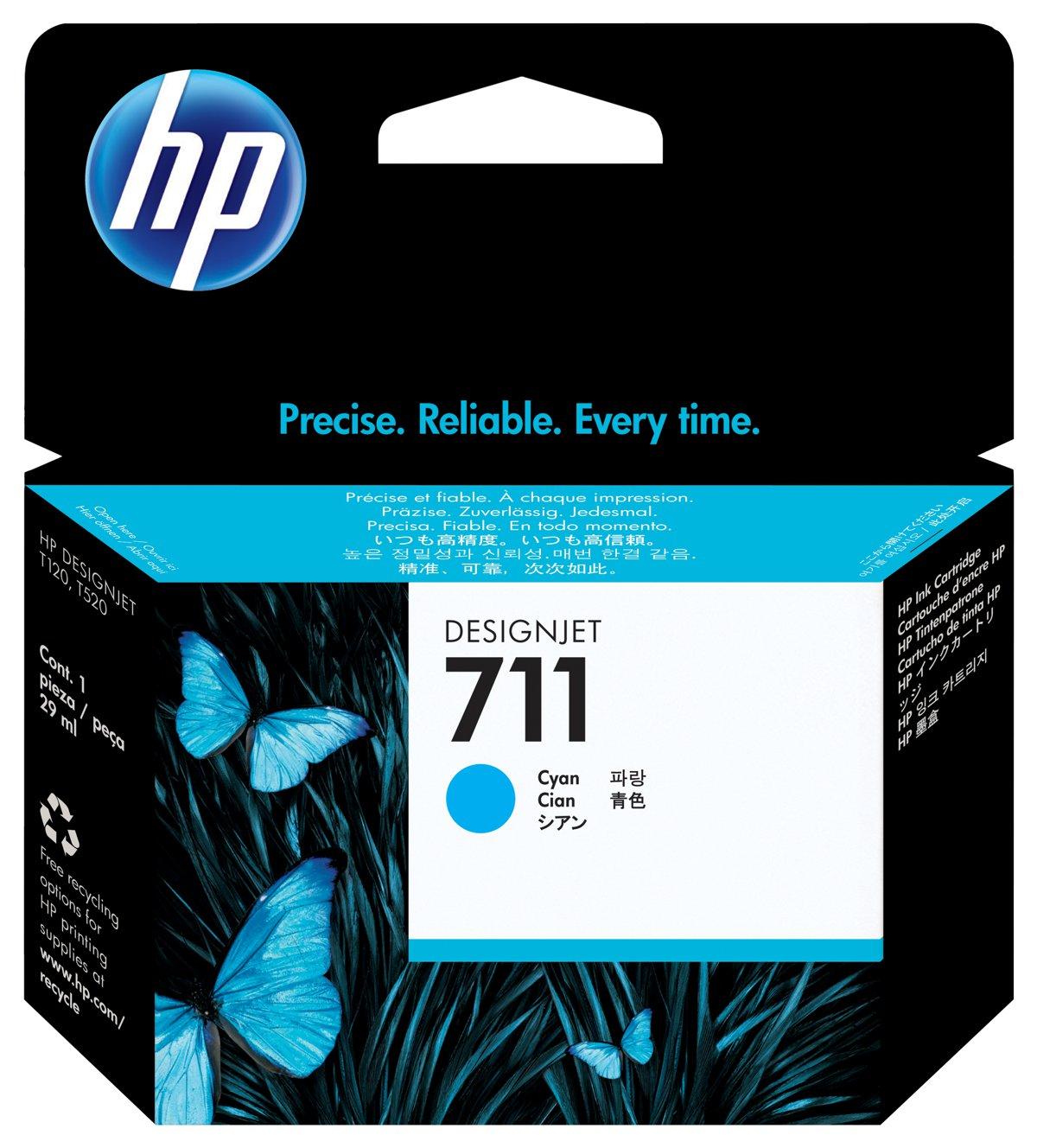 HP 711 (CZ130A) Cyan Original...