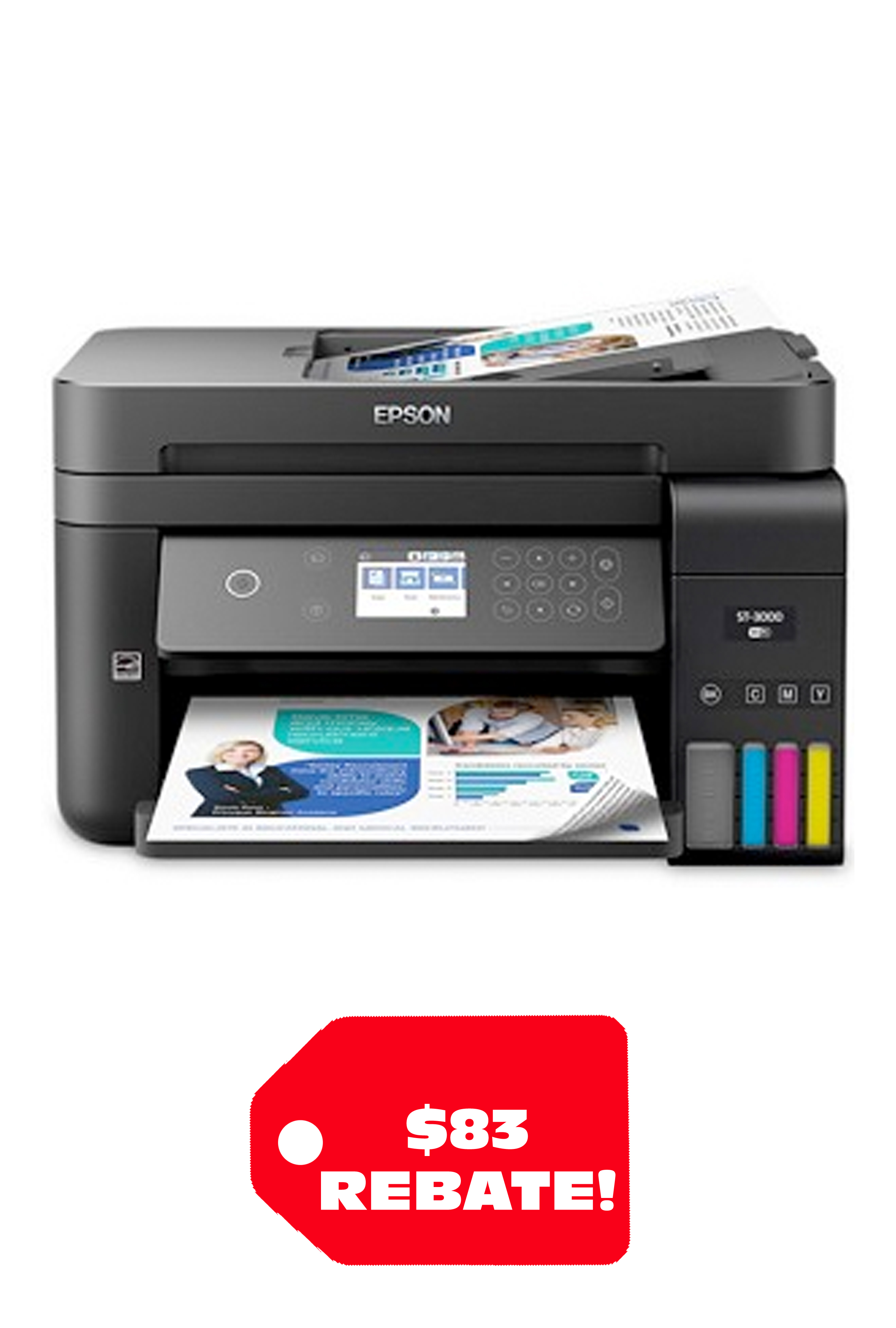 Epson WorkForce ST-3000 EcoTank Color MFP