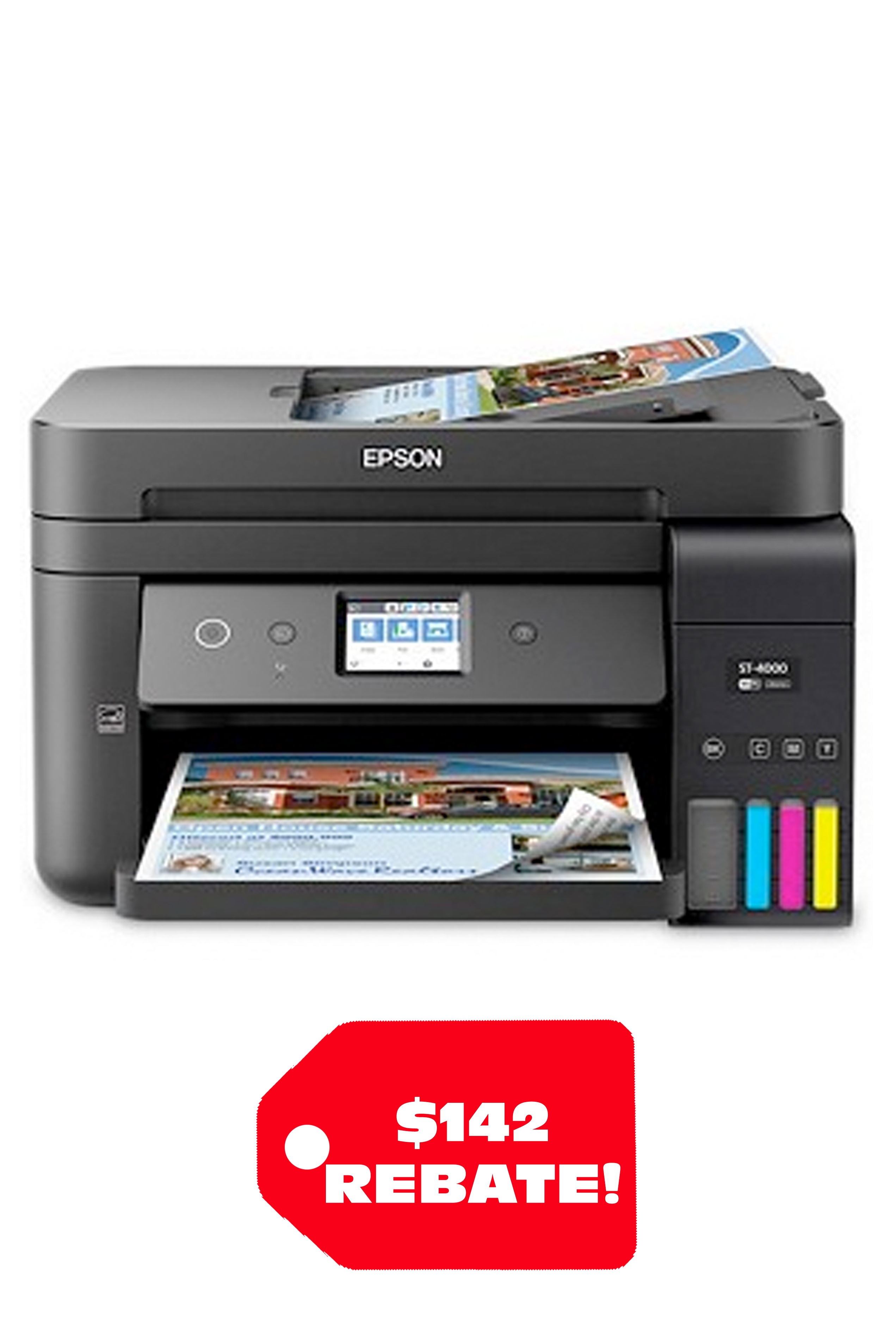 Epson WorkForce ST-4000 EcoTank Color MFP