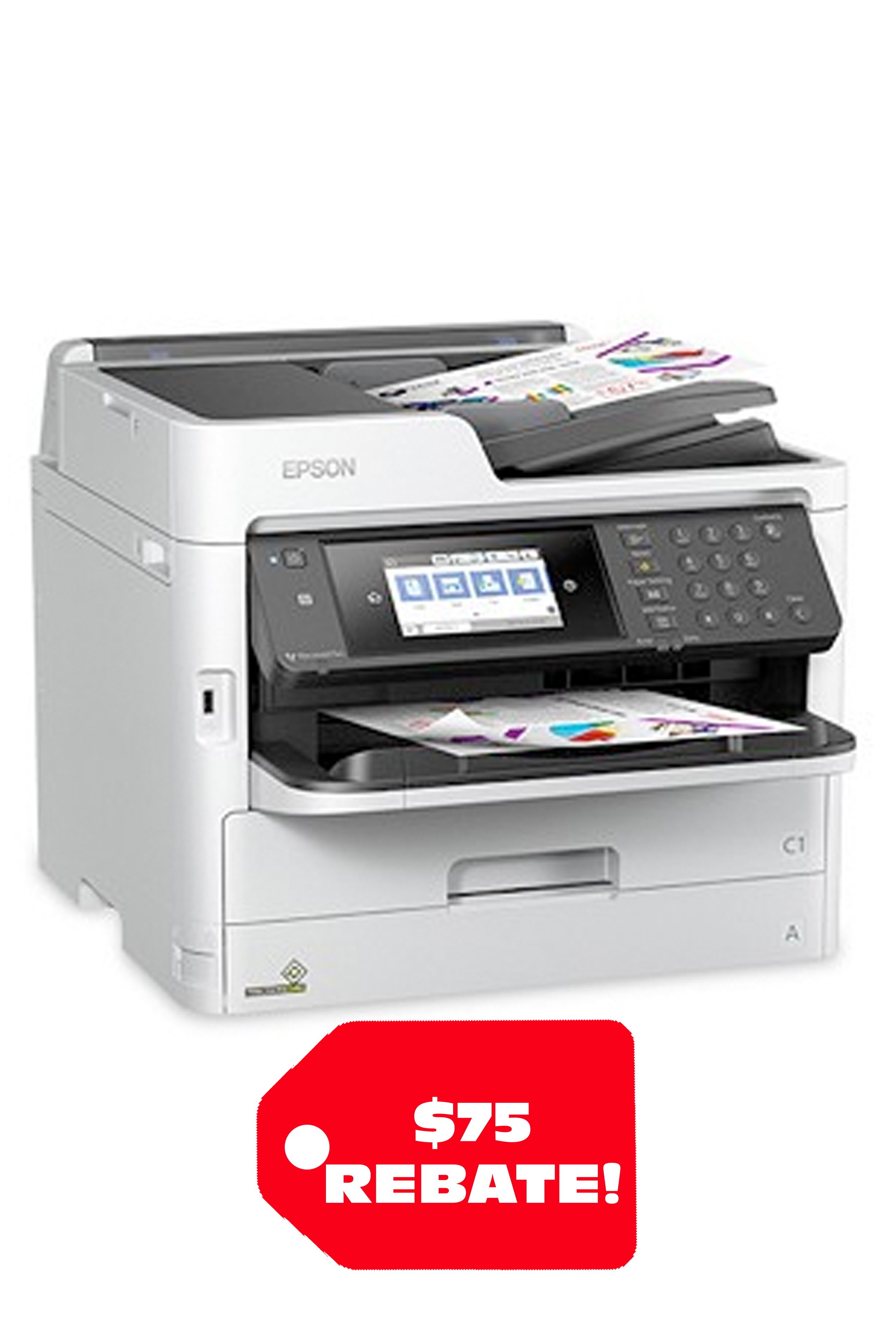 Epson WorkForce Pro WF-C5710 Network Multifunction Color...