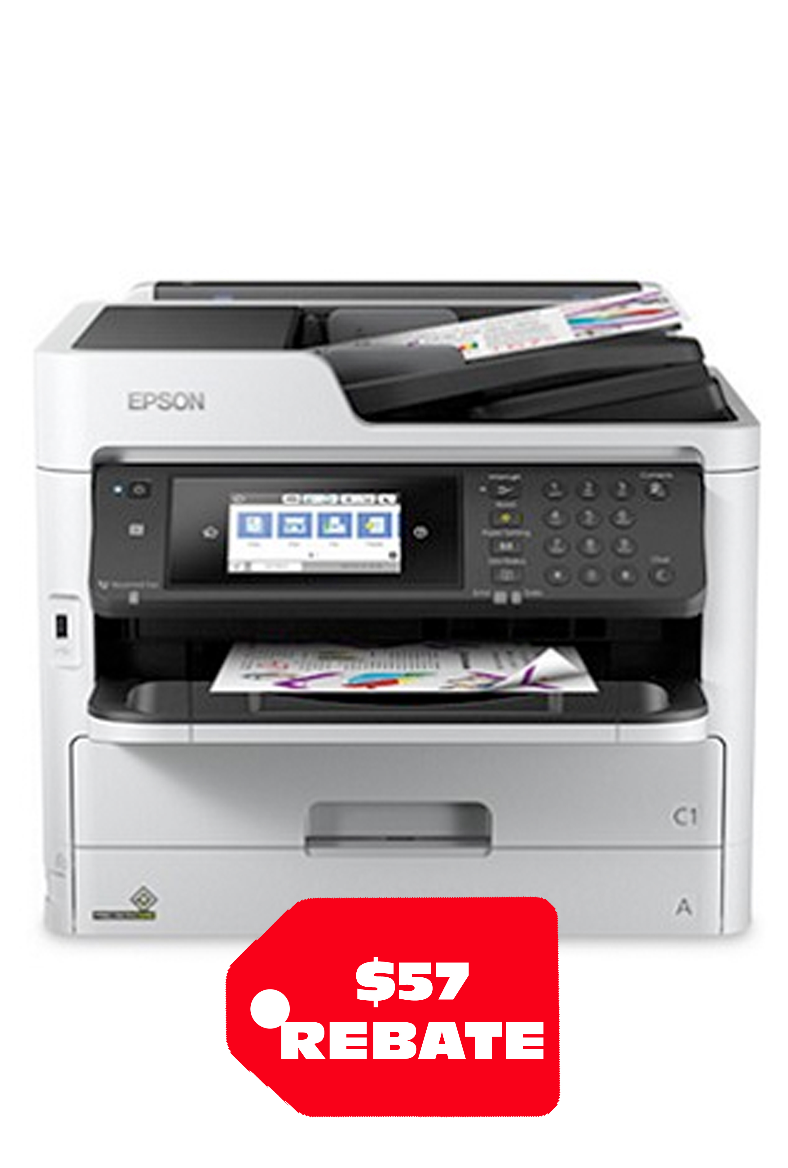 Epson WorkForce Pro WF-C5790 Network Multifunction Color...