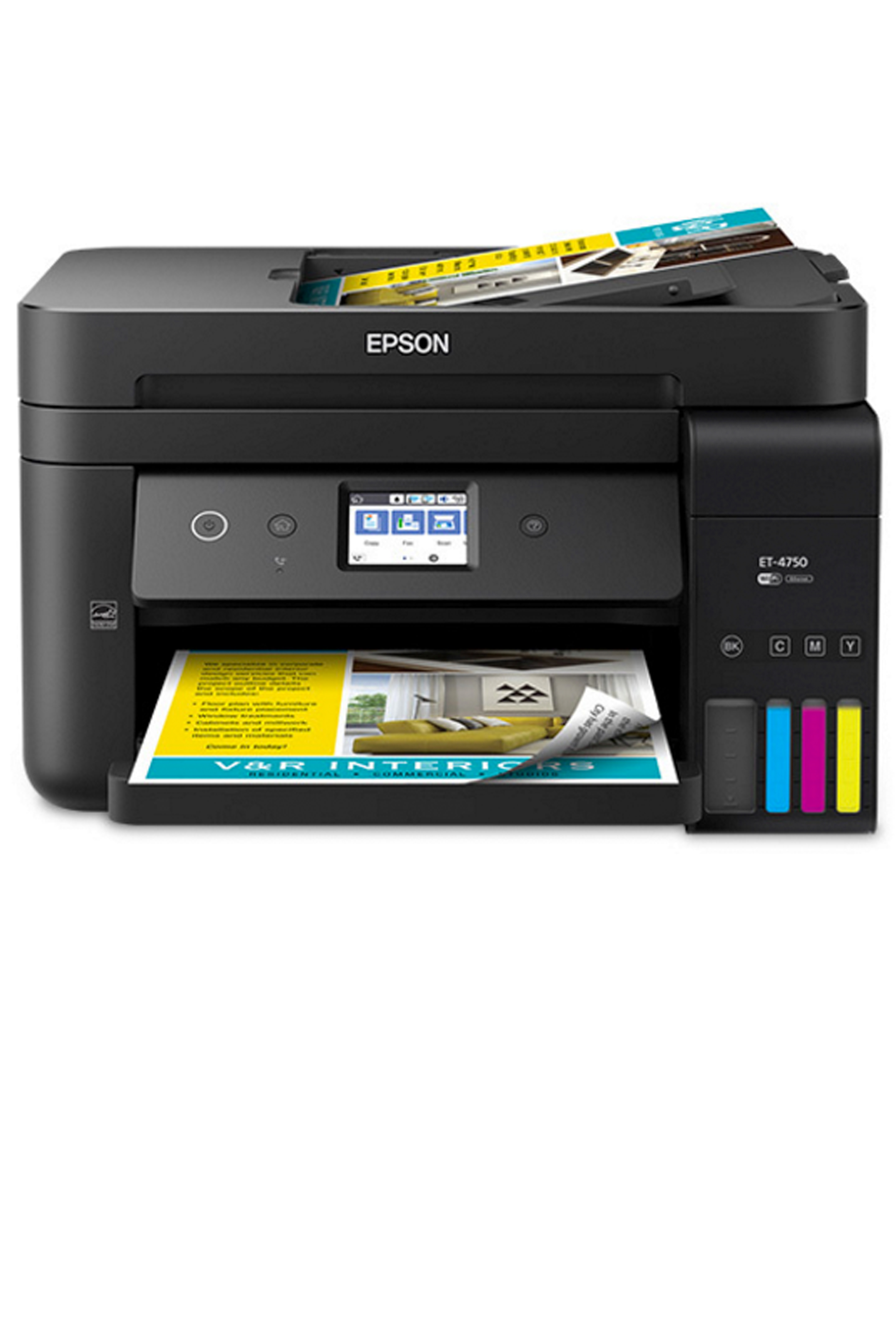 Epson EPSON ECO TANK ET-4750 (BUSINESS EDITION) COLOR INKJET...