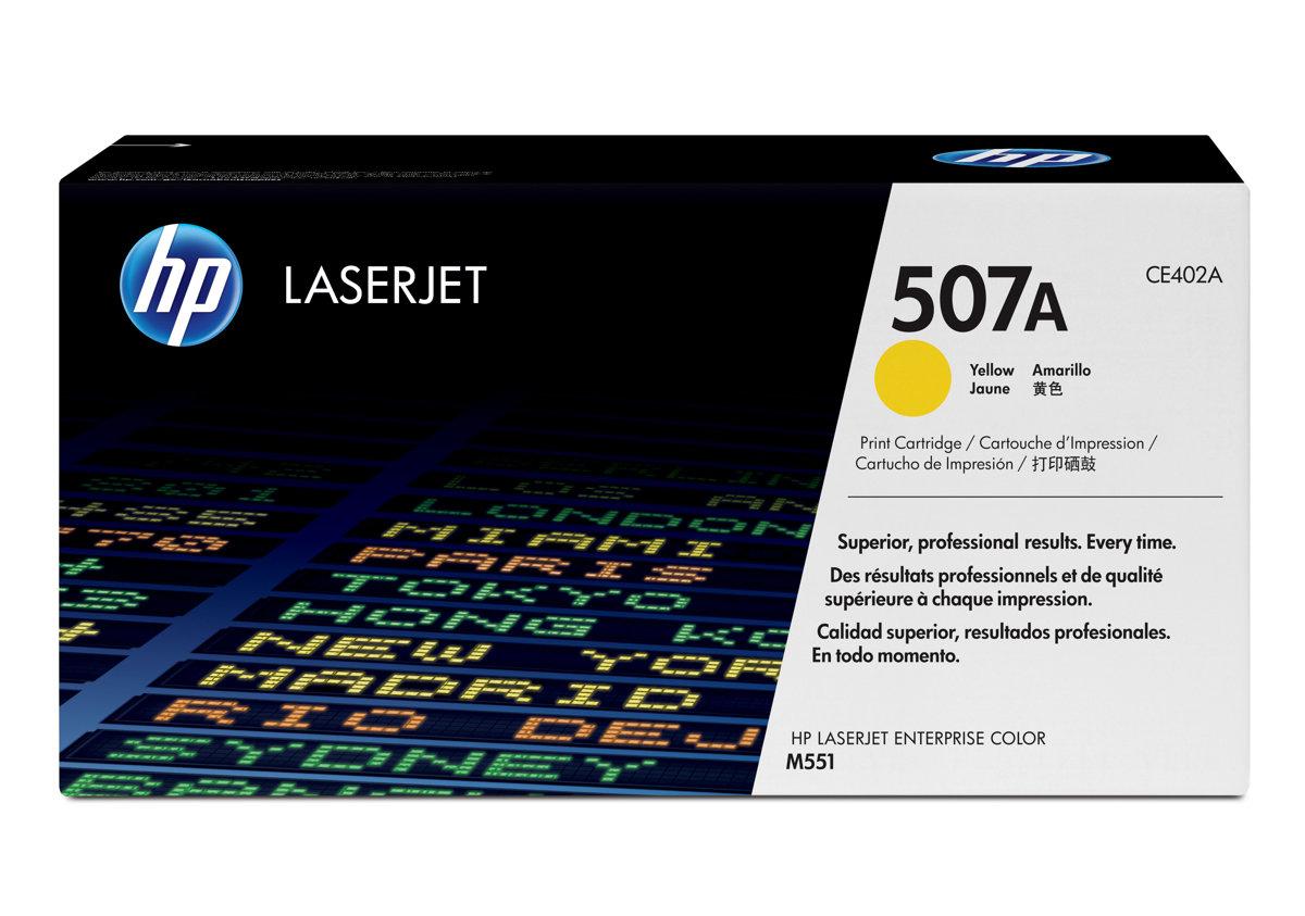HP 5Yellow Original LaserJet Toner Cartridge for US Government...