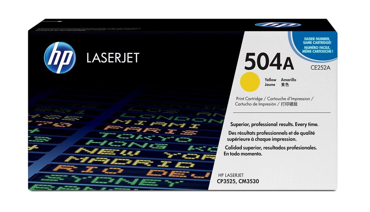 HP Yellow Original LaserJet Toner Cartridge for US Government...