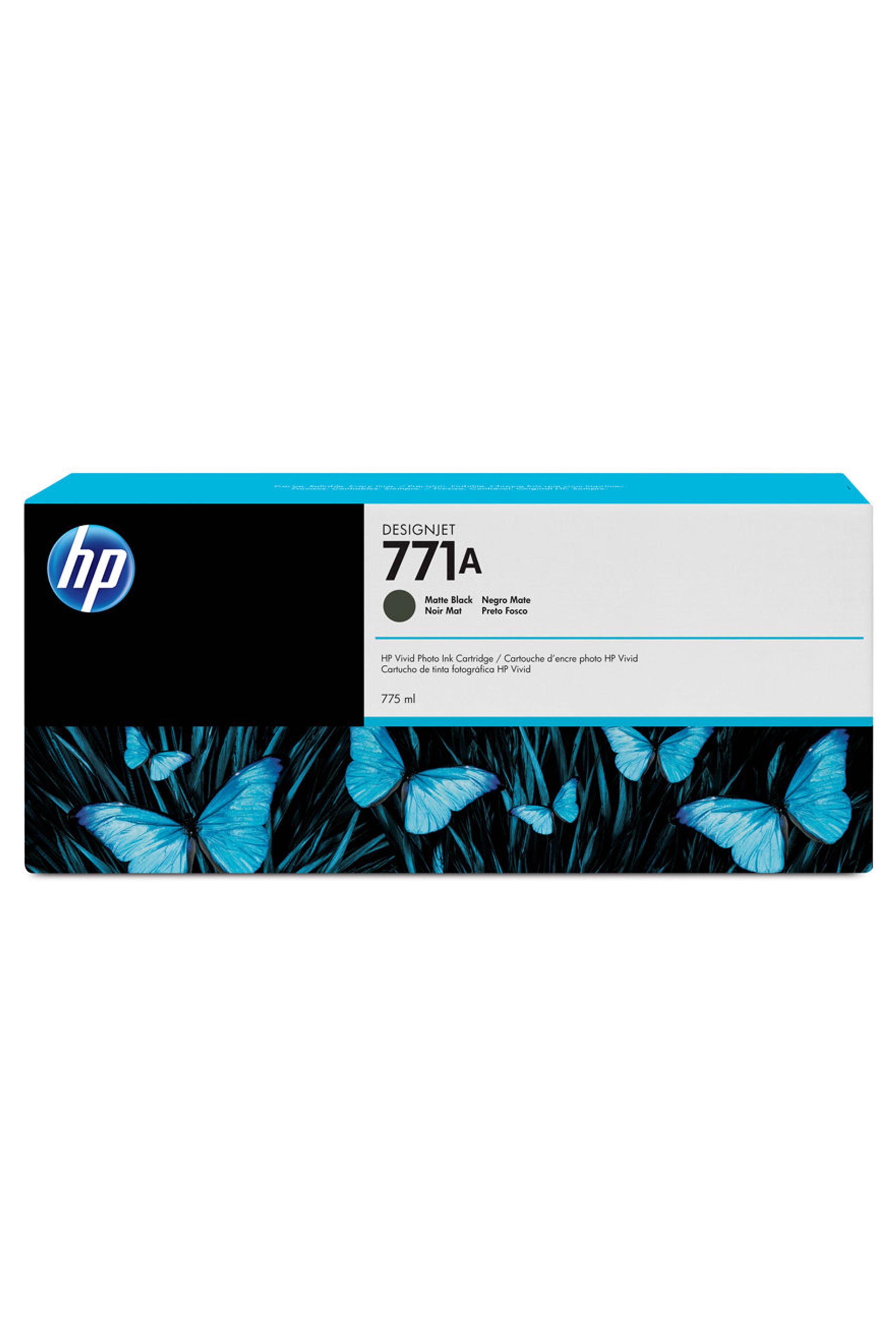 HP 771A (B6Y15A) Matte Black...