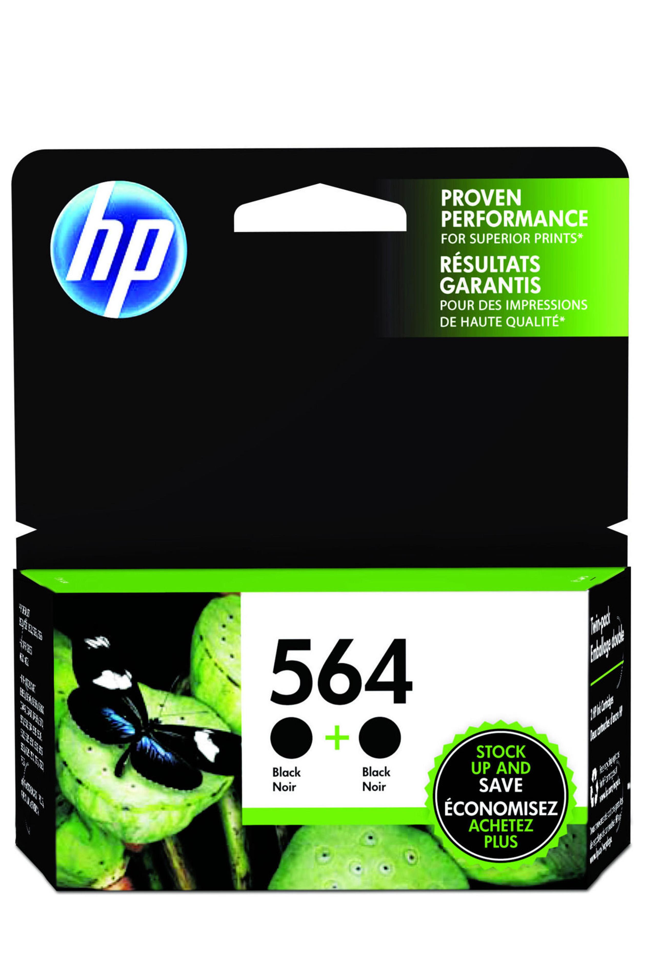HP 564 (C2P51FN) 2-Pack Black...