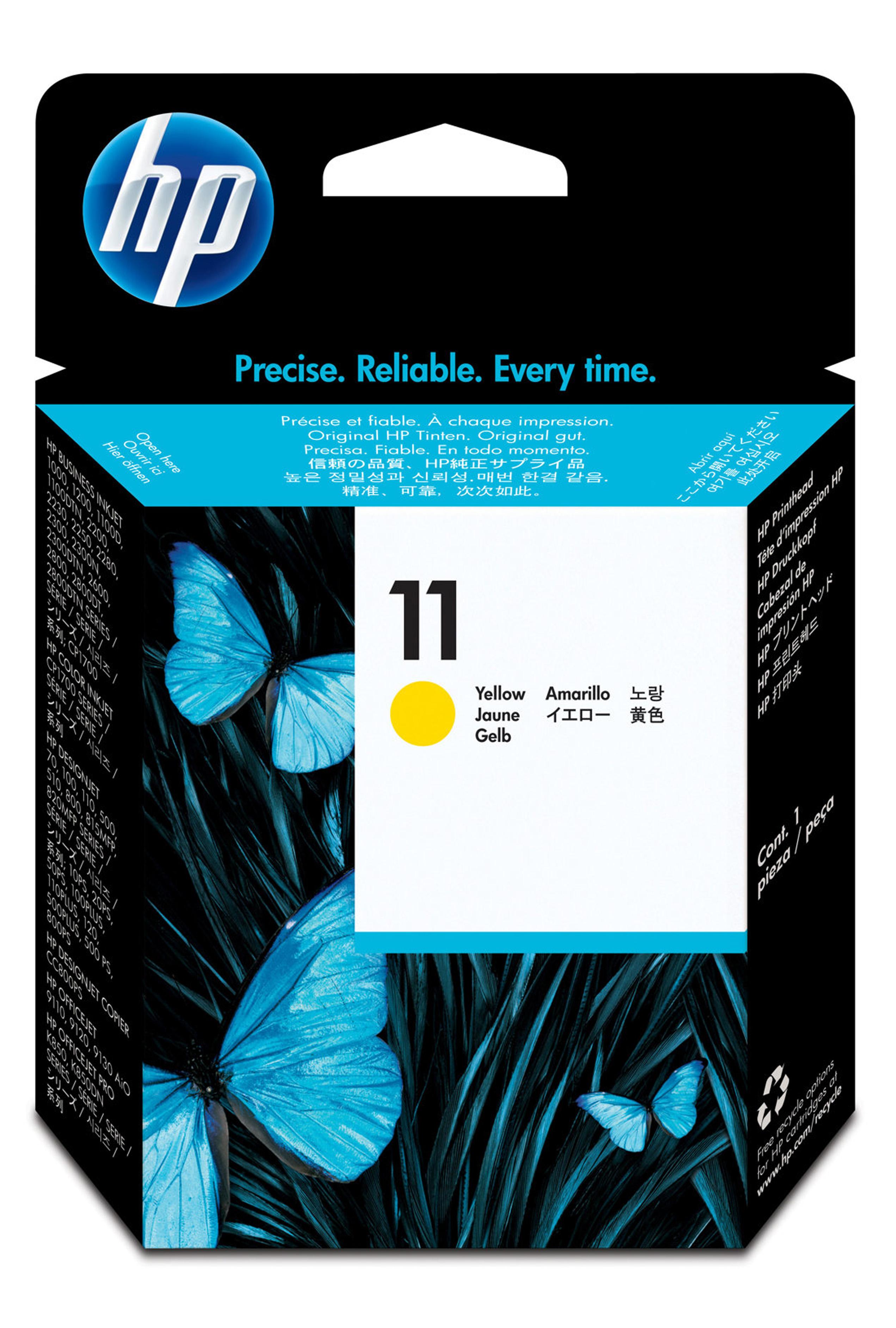 HP 11 (C4813A) Yellow Printhead...