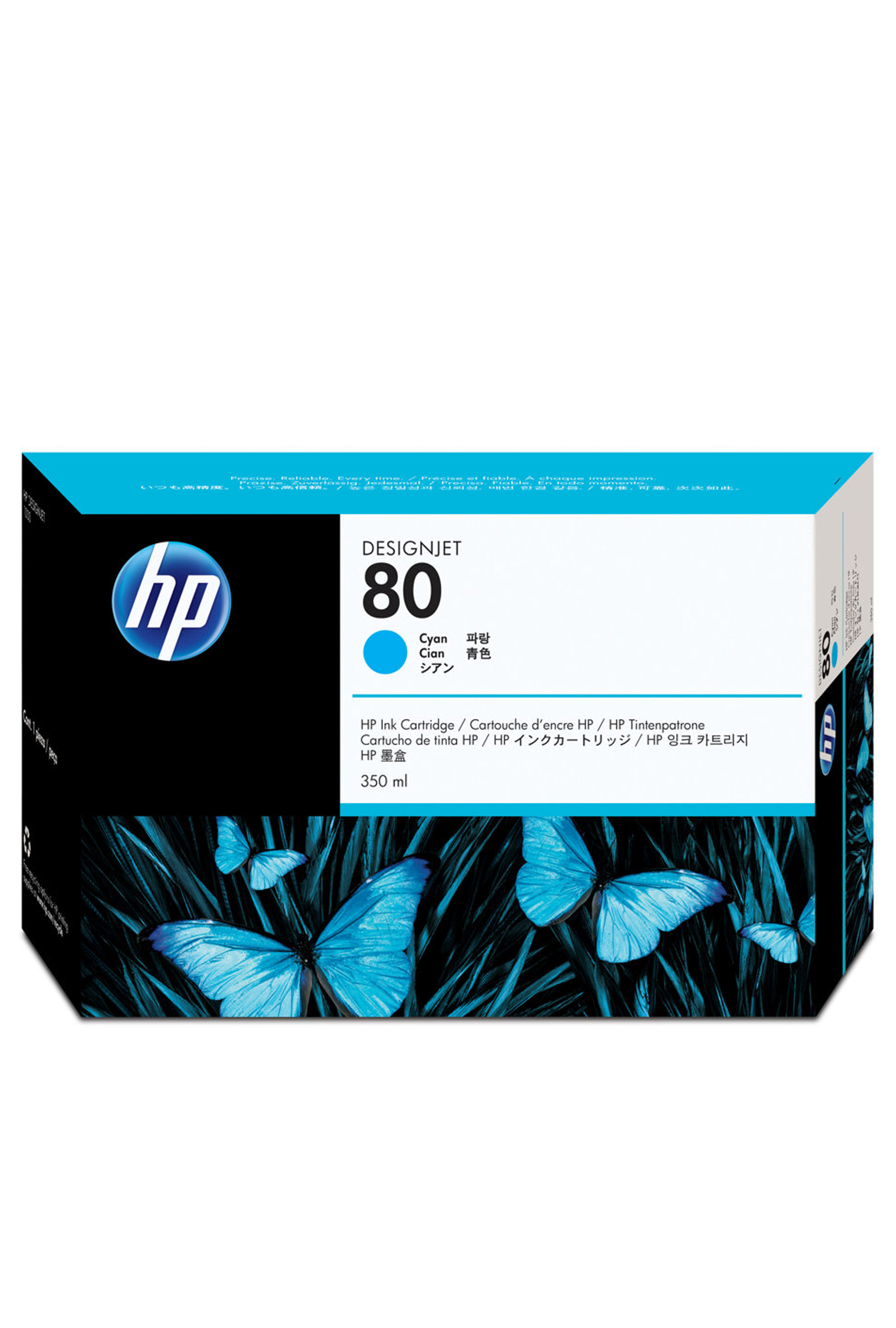 HP 80 (C4846A) Cyan Original...