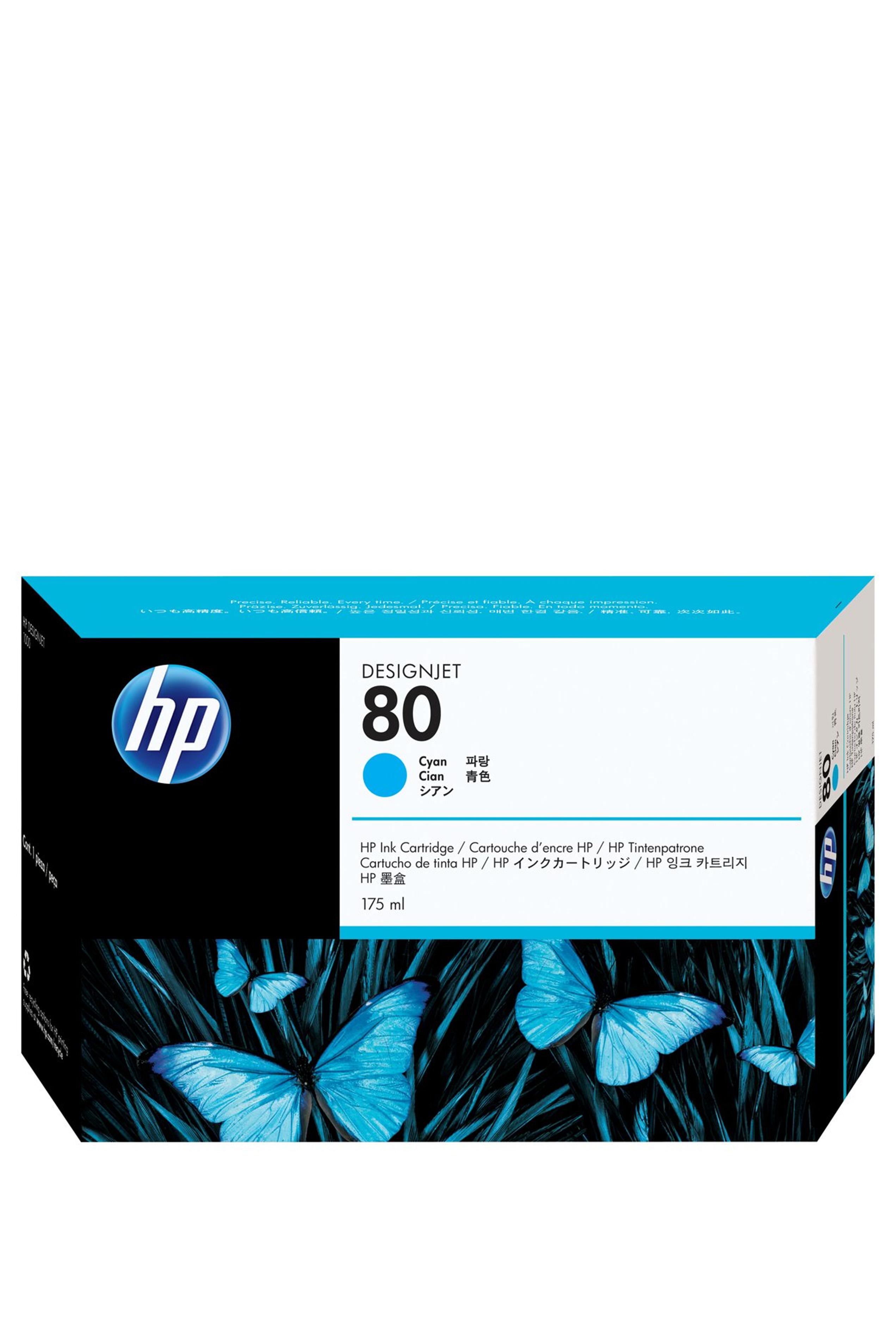 HP 80 (C4872A) Cyan Original...