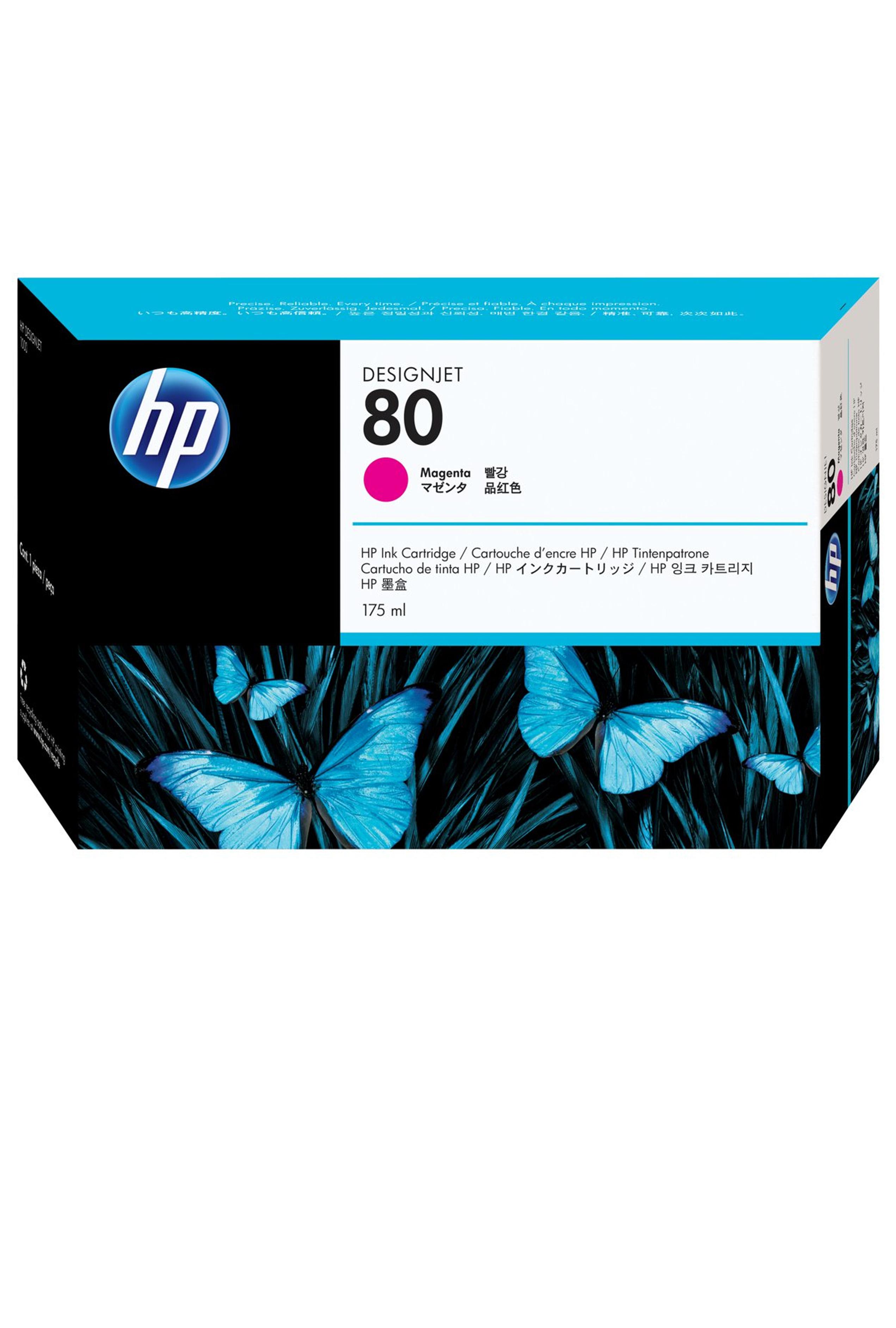HP 80 (C4874A) Magenta Original...