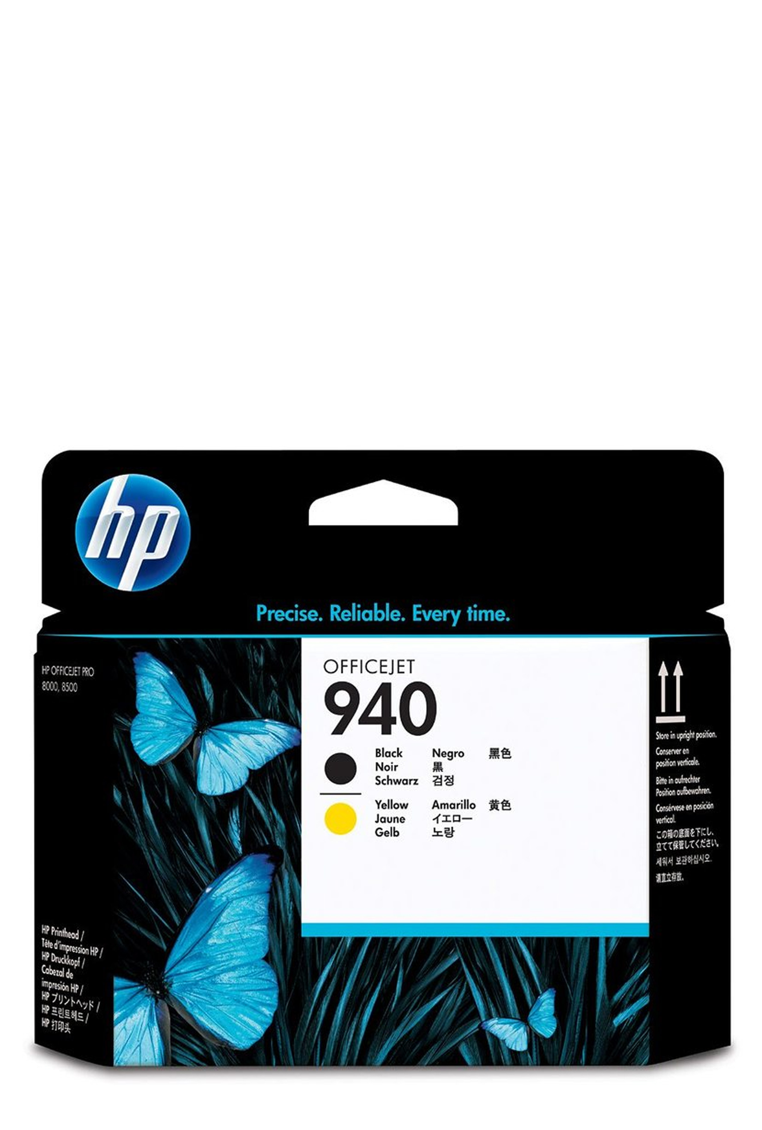 HP 940 (C4900A) Black/Yellow...