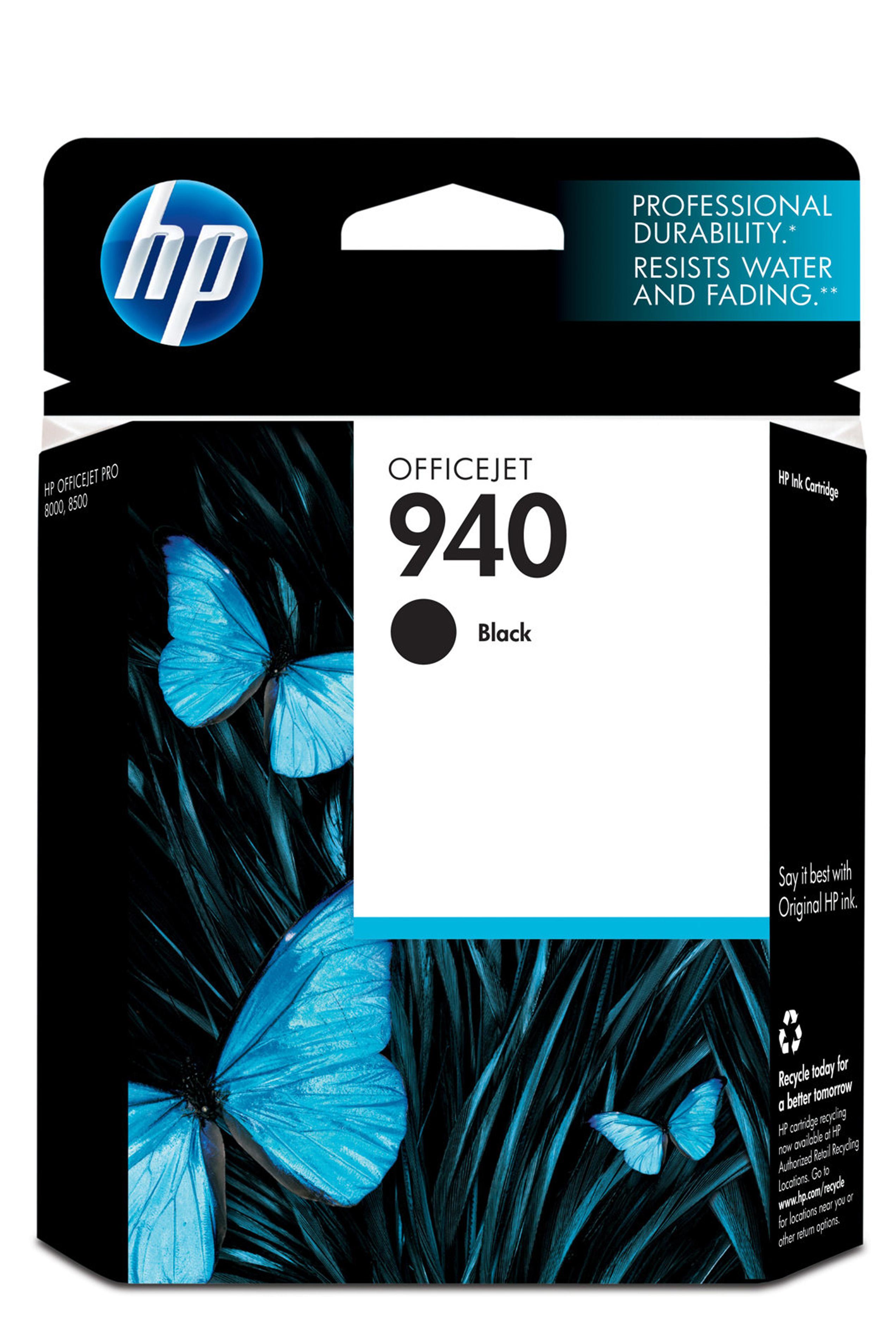 HP 940 (C4902AN) Black Original...