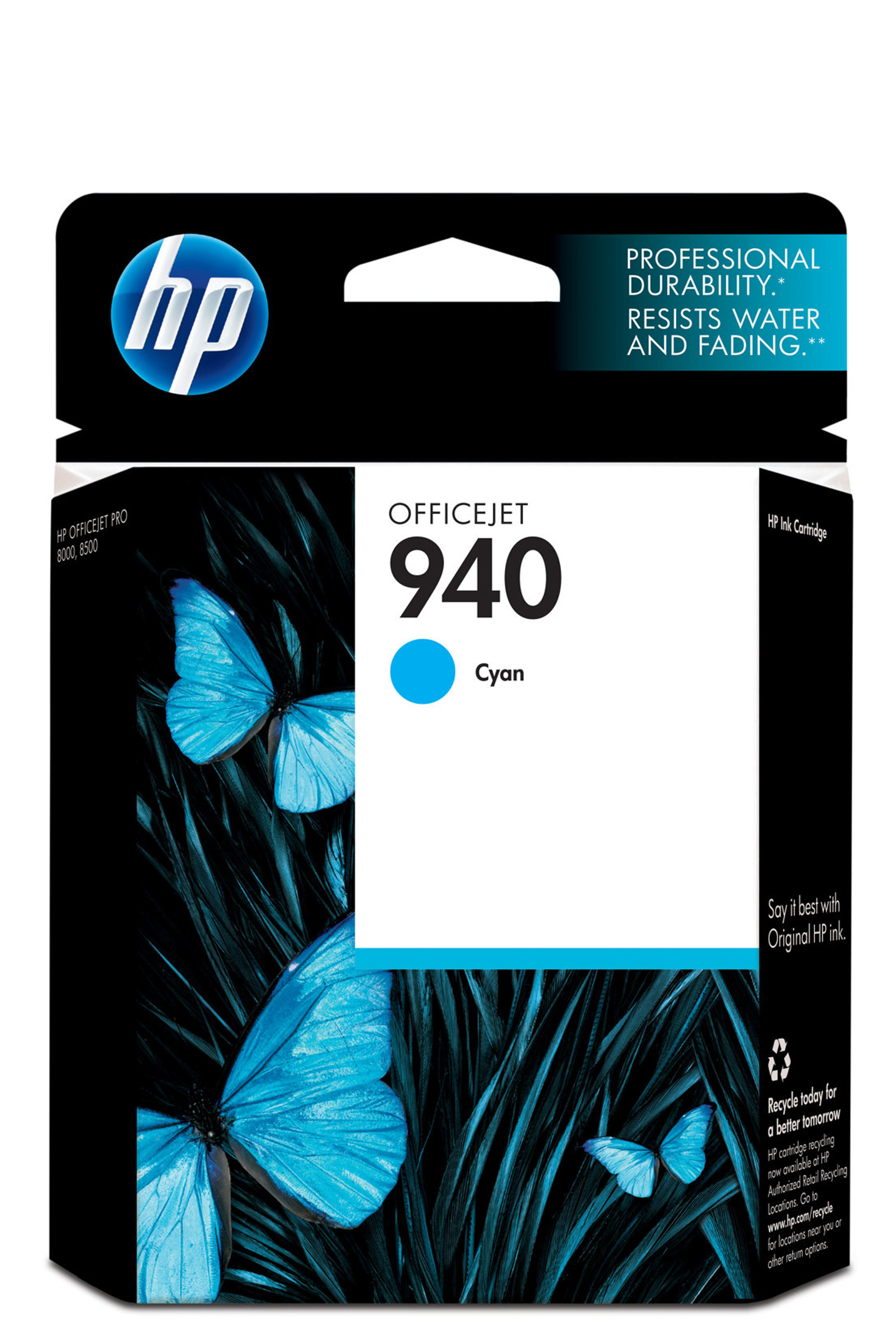 HP 940 (C4903AN) Cyan Original...