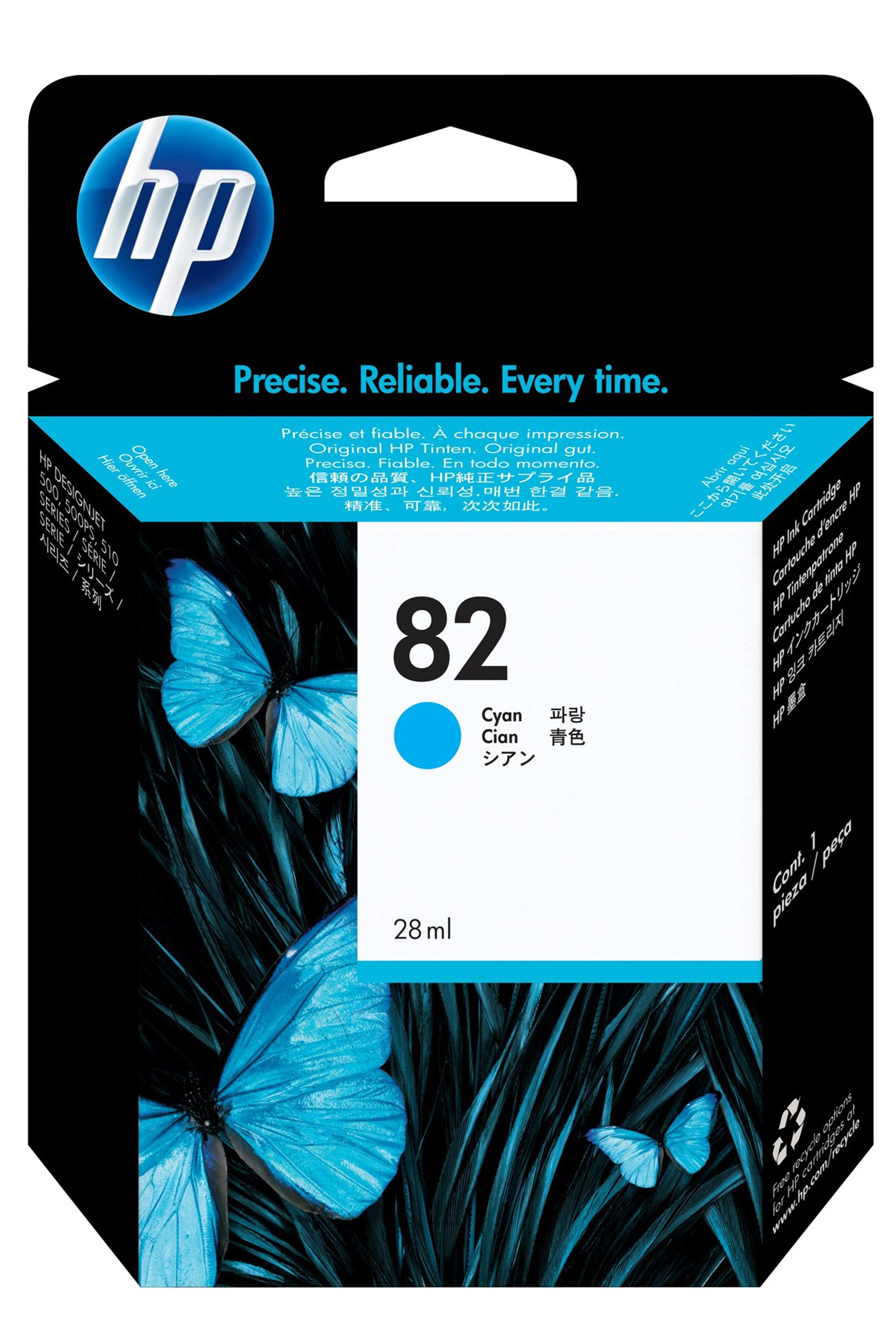 HP 82 (C4911A) Cyan Original...