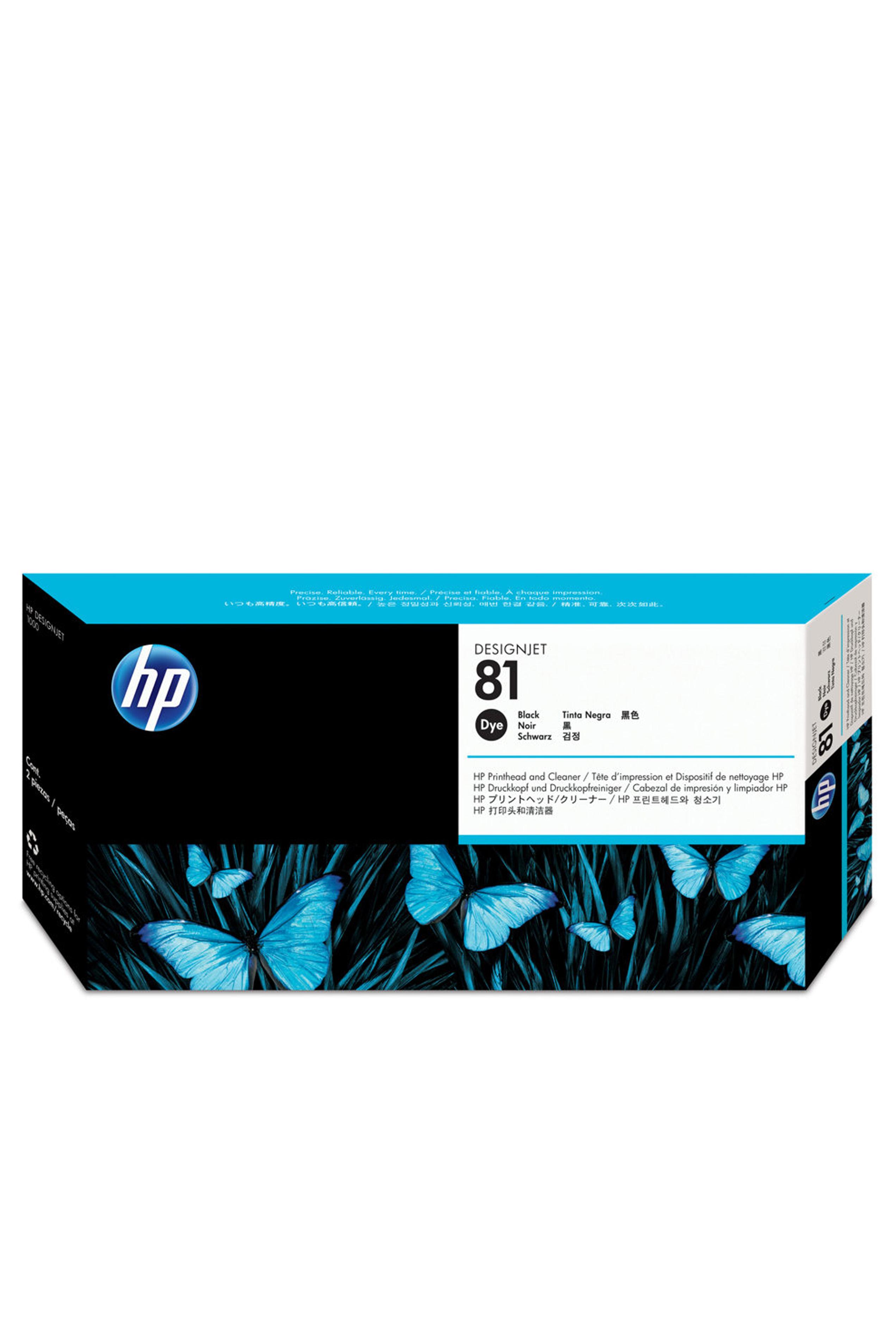 HP 81 (C4950A) Black Dye...