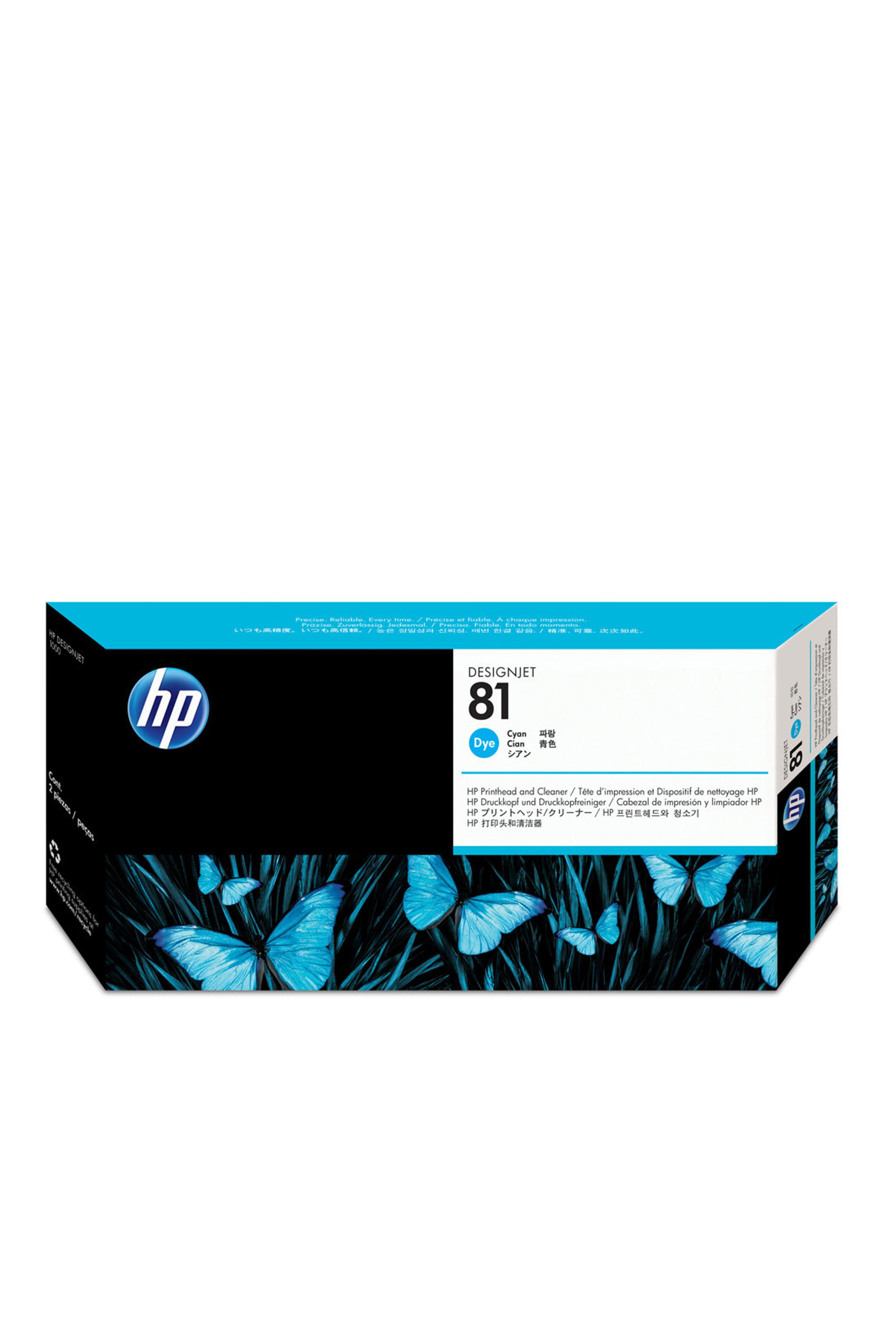 HP 81 (C4951A) Cyan Dye Printhead/Printhead...