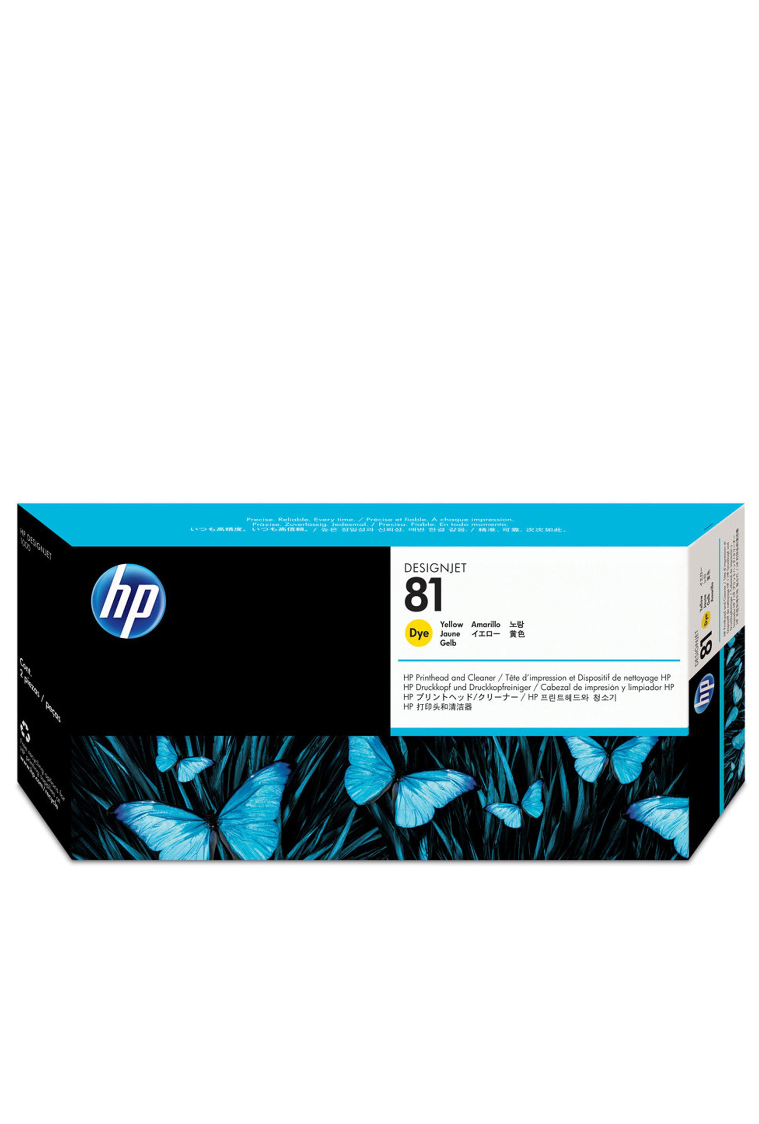 HP 81 (C4953A) Yellow Dye...