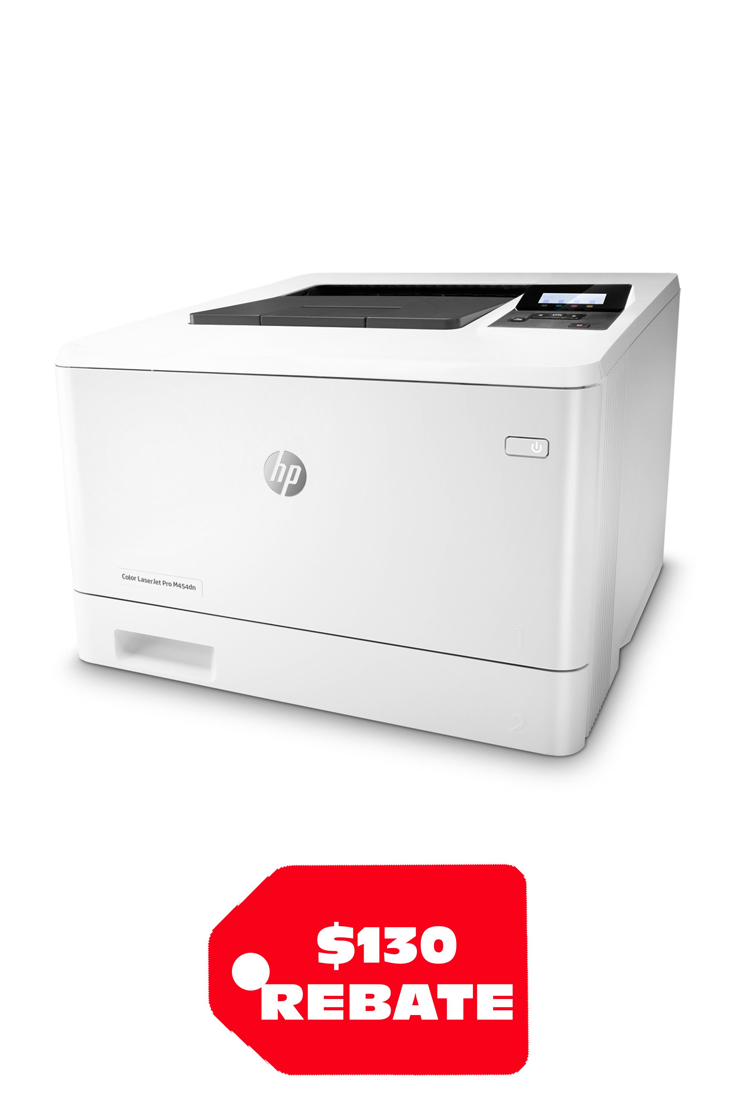 HP Color LaserJet Pro M454DN (28/27 ppm)