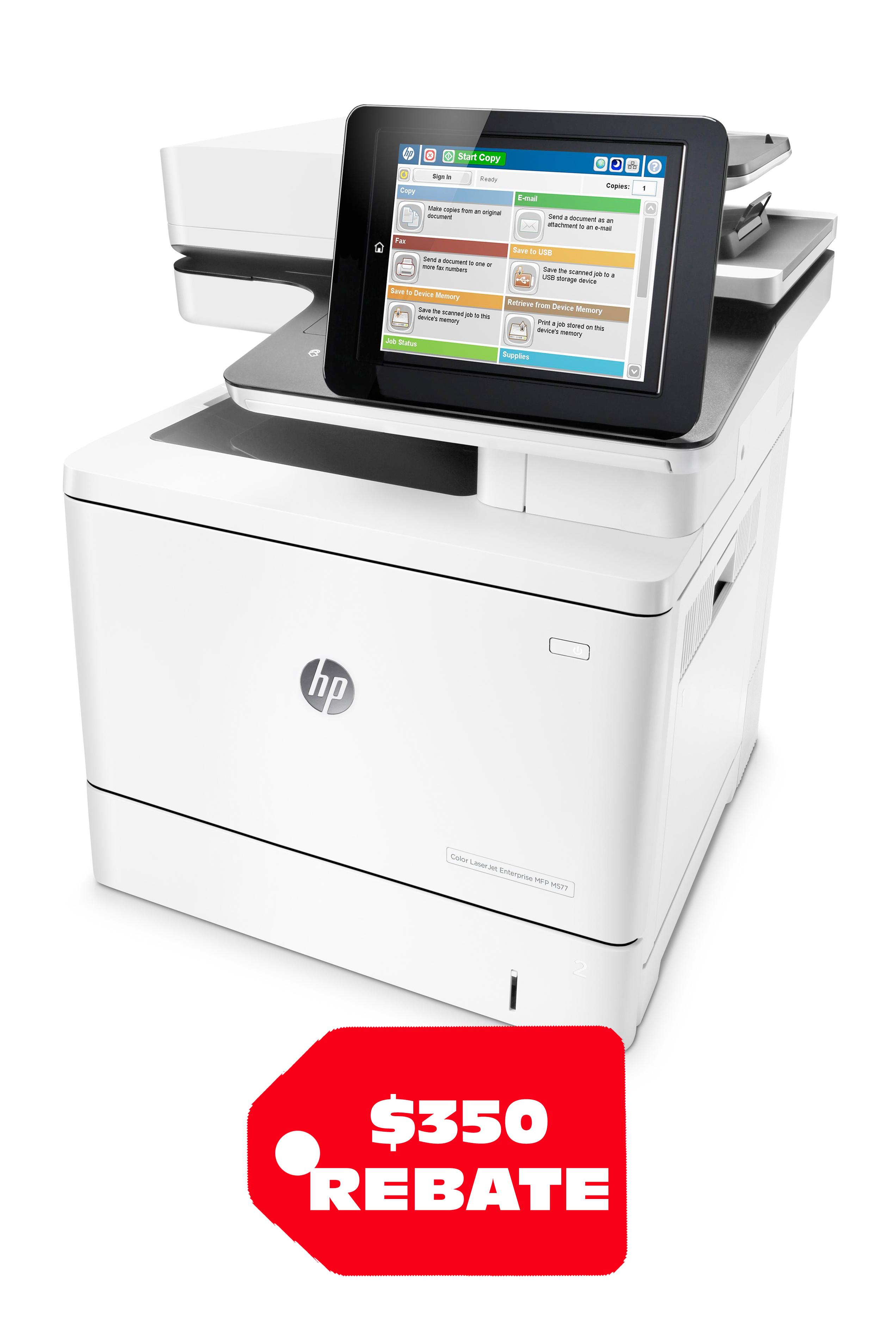 HP Color LaserJet Enterprise M577f 40ppm/ 40ppm Multifunction...