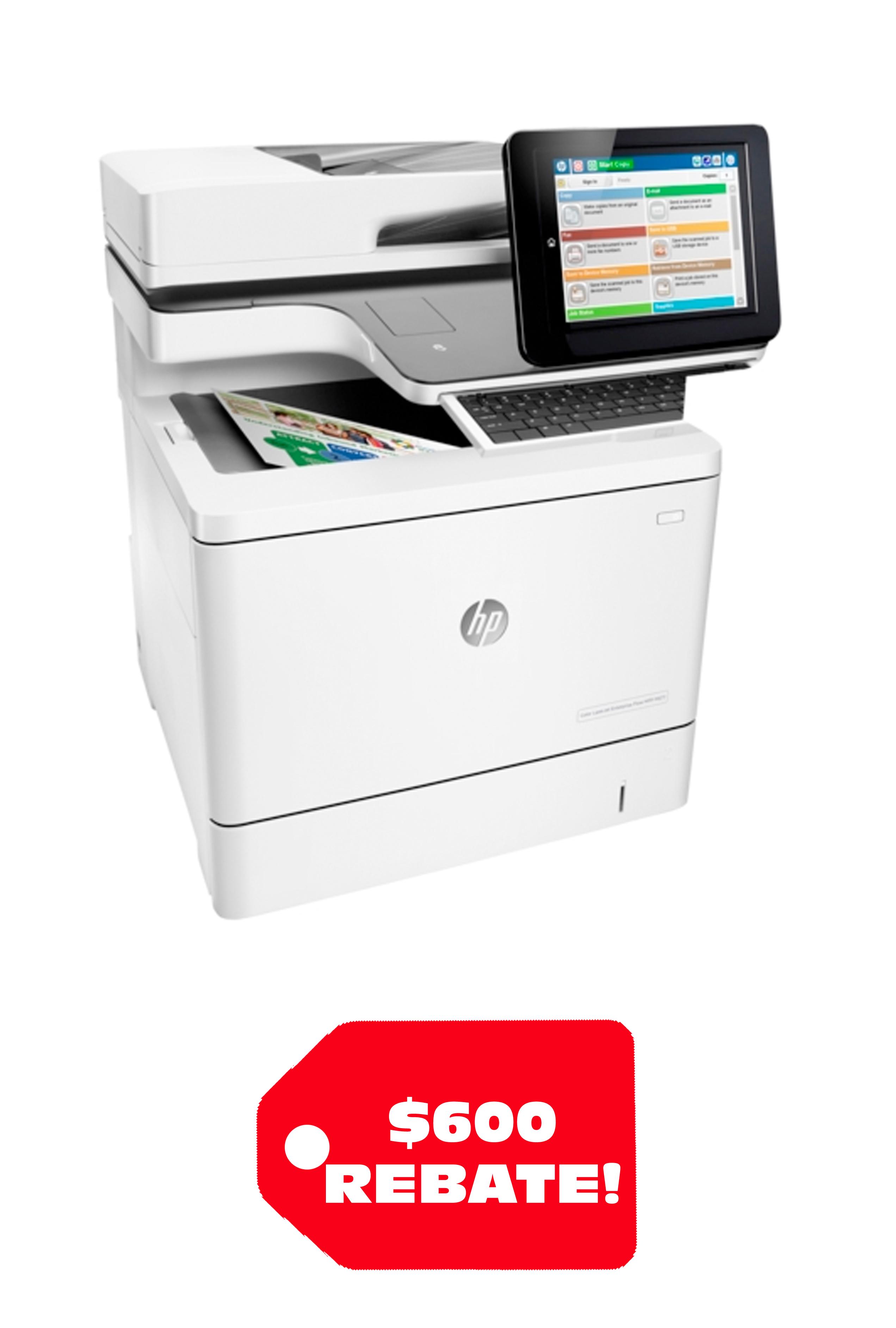 HP Color LaserJet Enterprise Flow M577z 40ppm/40ppm...
