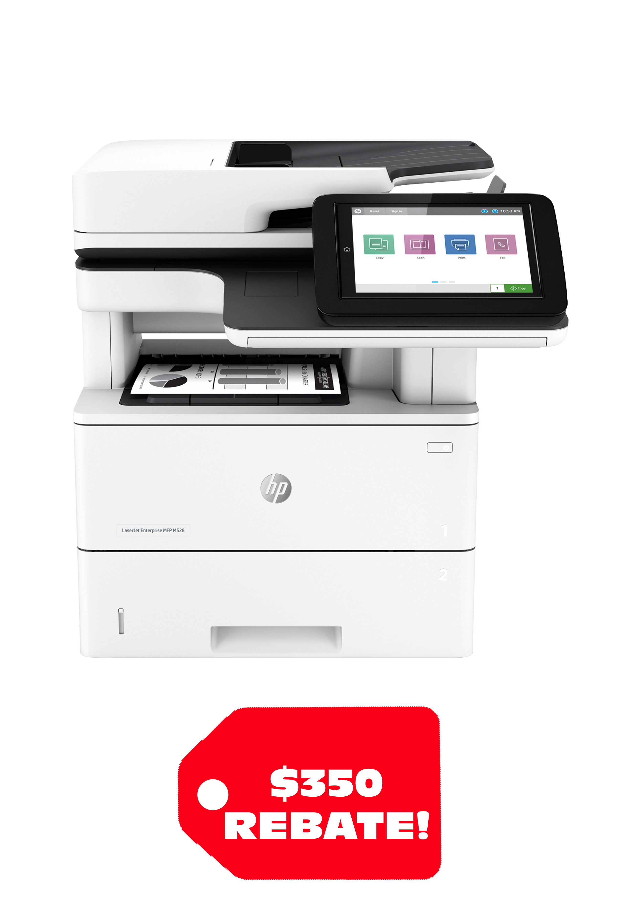 HP LASERJET ENTERPRISE MFP M528DN (45ppm)