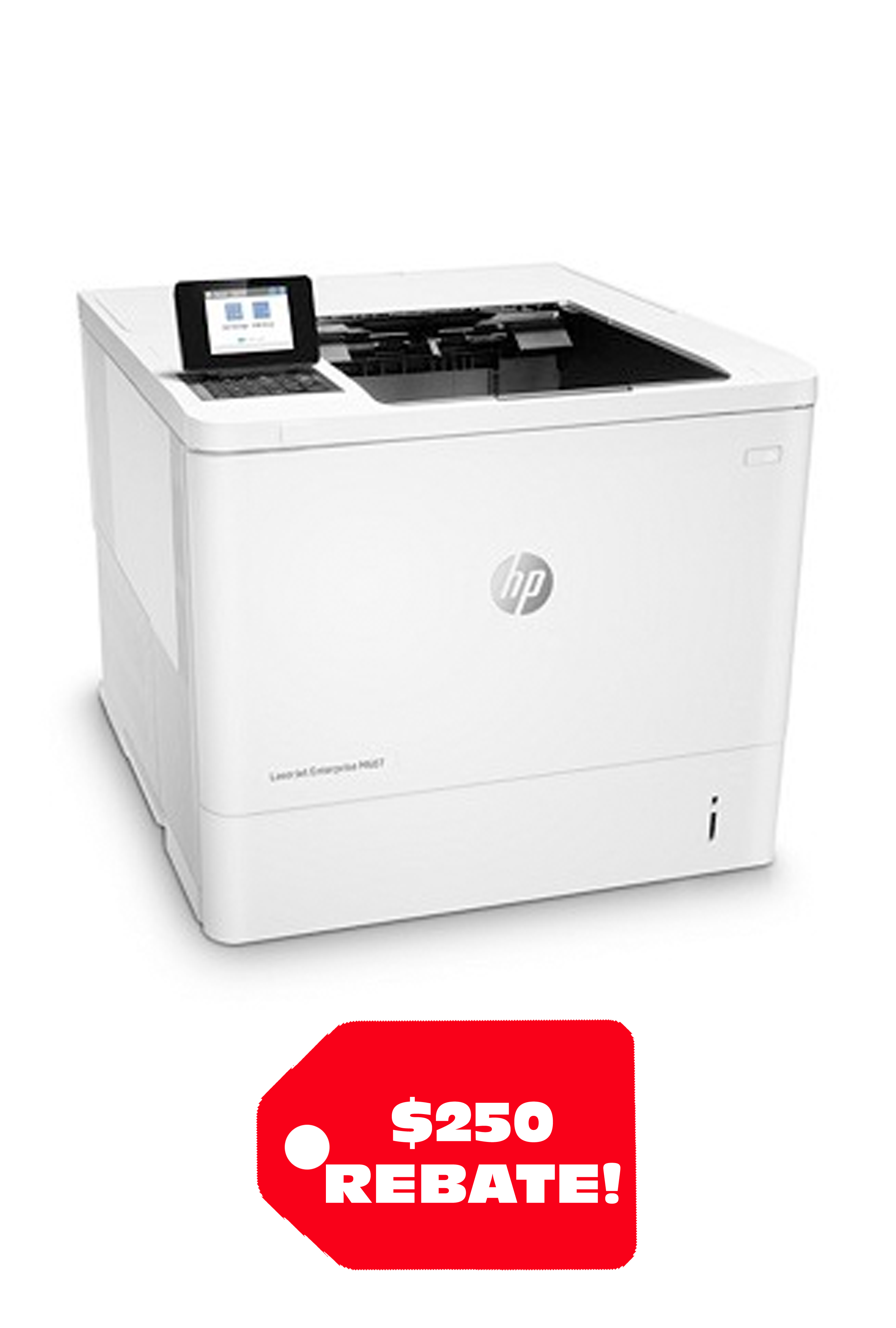 HP LaserJet Enterprise M608DN 65ppm Printer