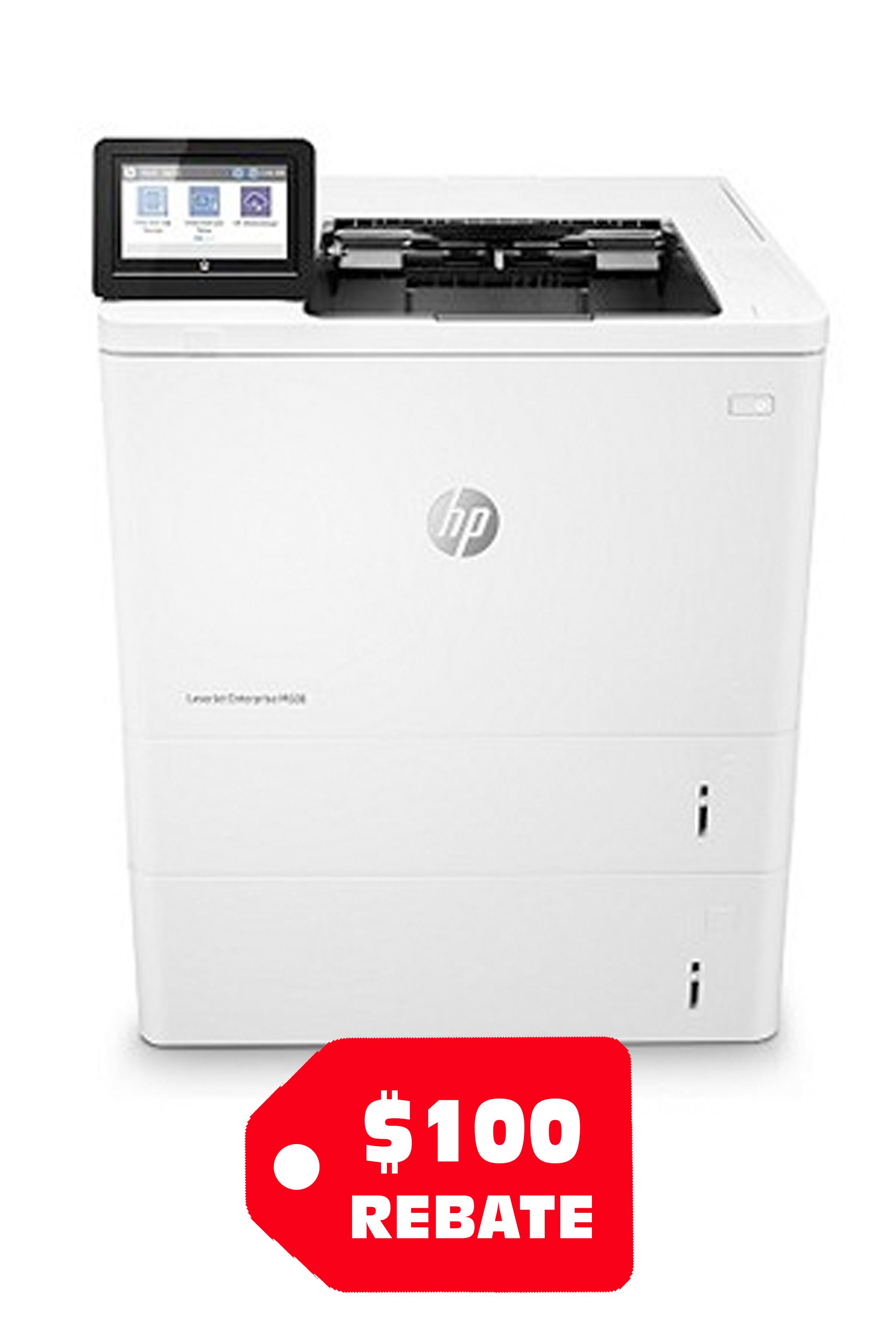 HP LaserJet Enterprise M608X...