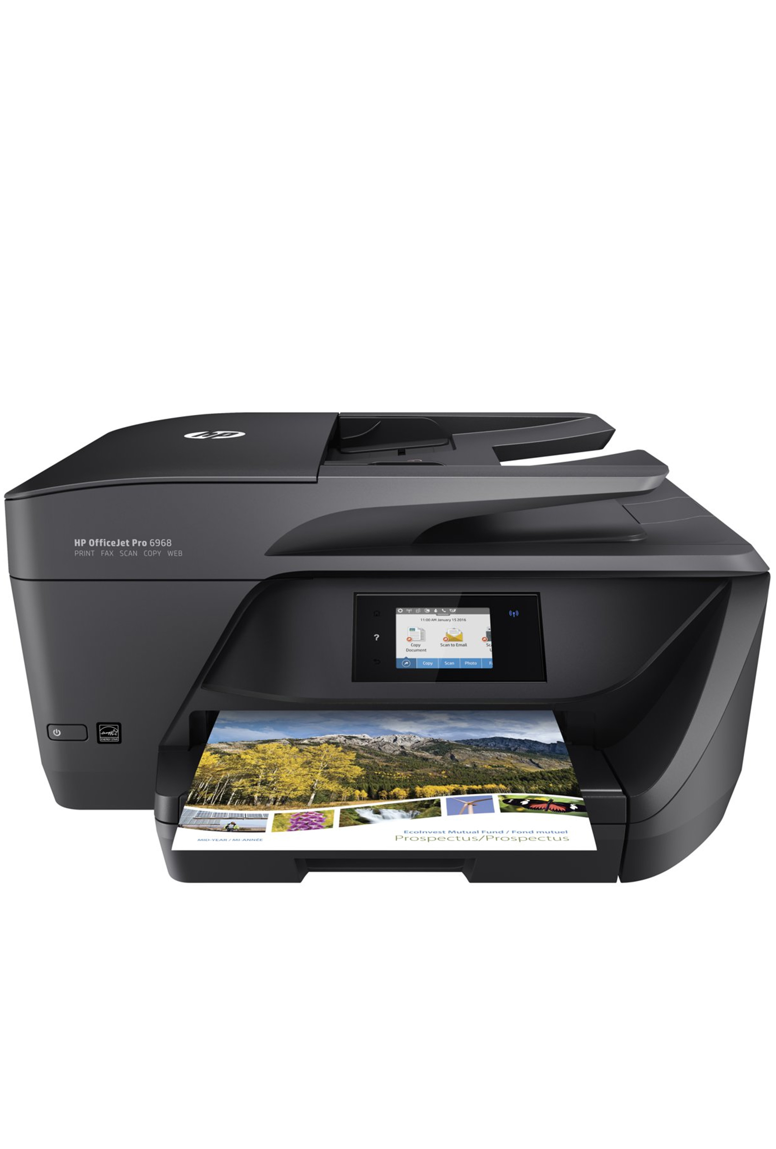 HP OfficeJet Pro 6968 All-in-One Printer up to 30PPM Print/...
