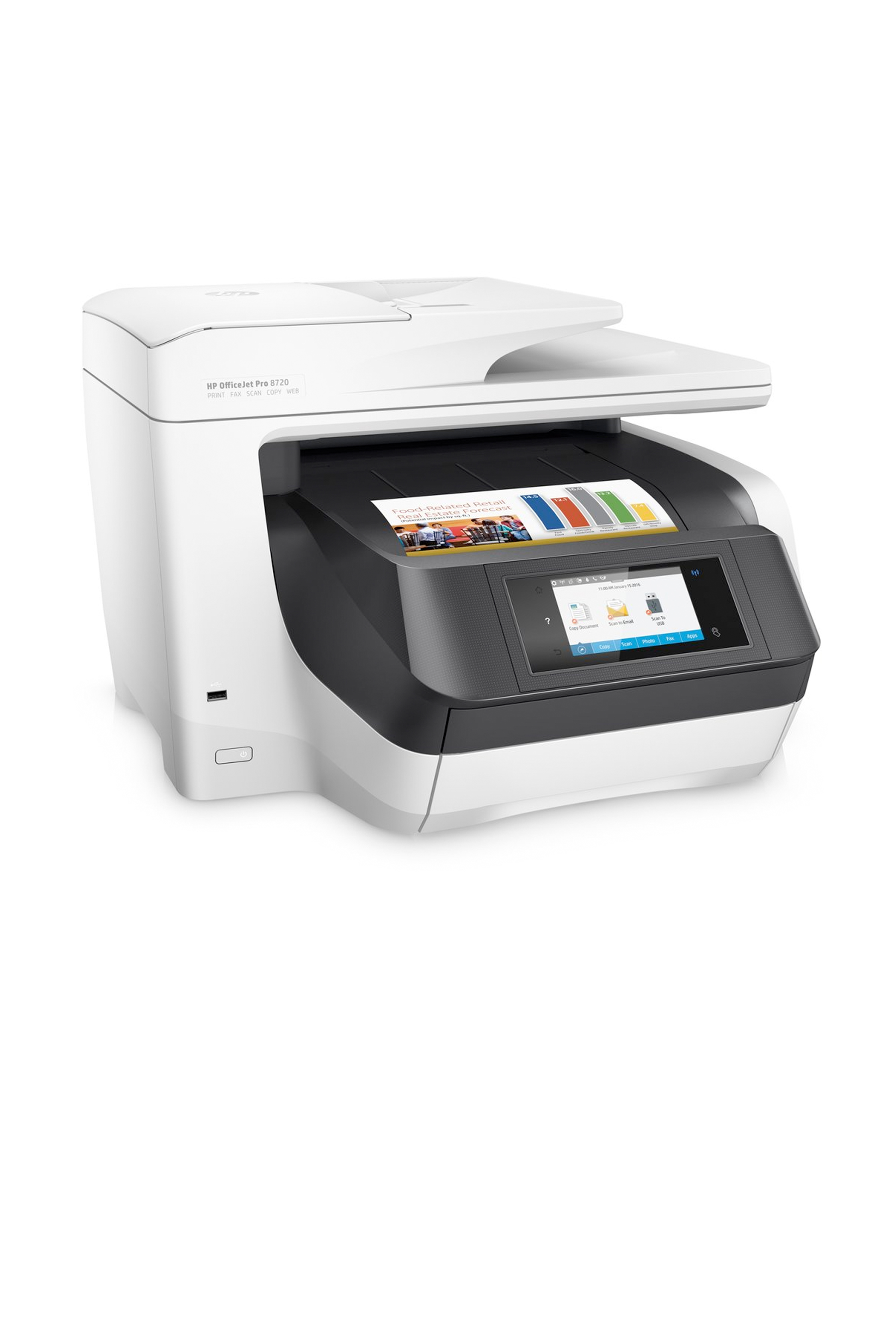Instant HP OfficeJet Pro 8720 All-in-One Wireless Printer with Mobile Printing