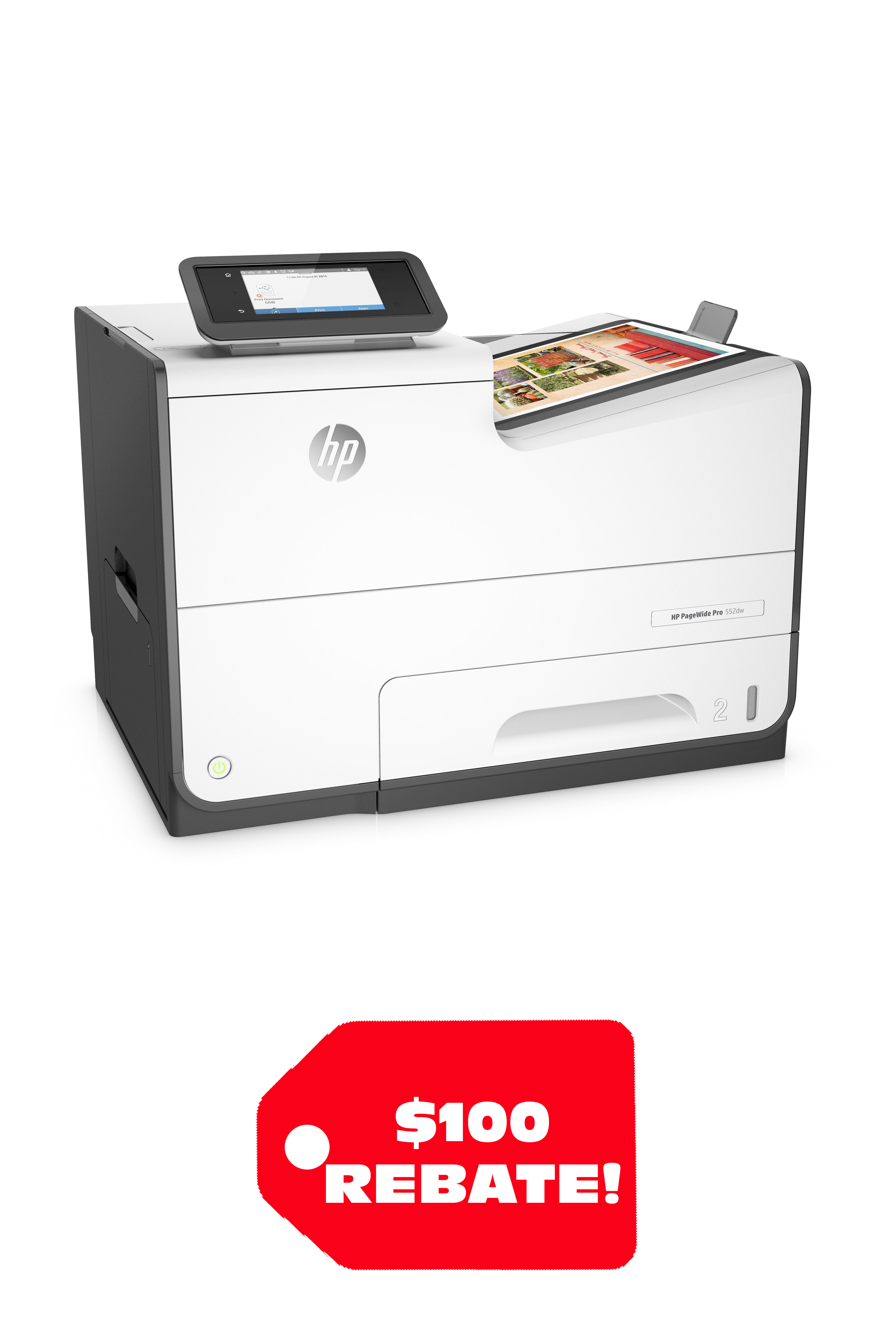 HP Black and White PageWide Pro 552dw 50ppm/ 50ppm Printer